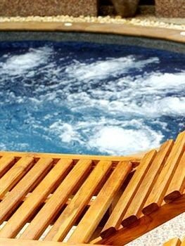 swimming pool wooden Boat