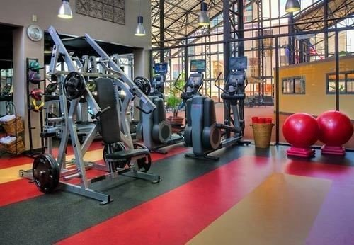 human action structure gym sport venue bodypump red physical fitness muscle