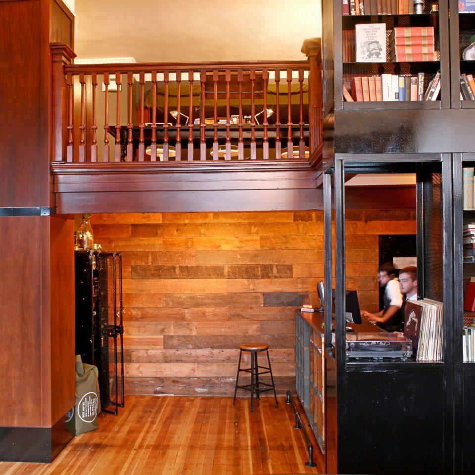 duplicate shelf chair library wooden building home bookshelf