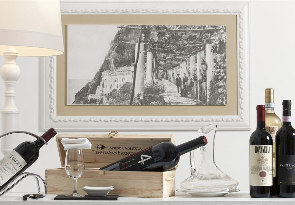 bottle wine painting living room modern art