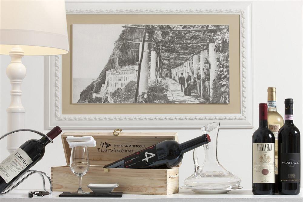 bottle wine painting living room modern art