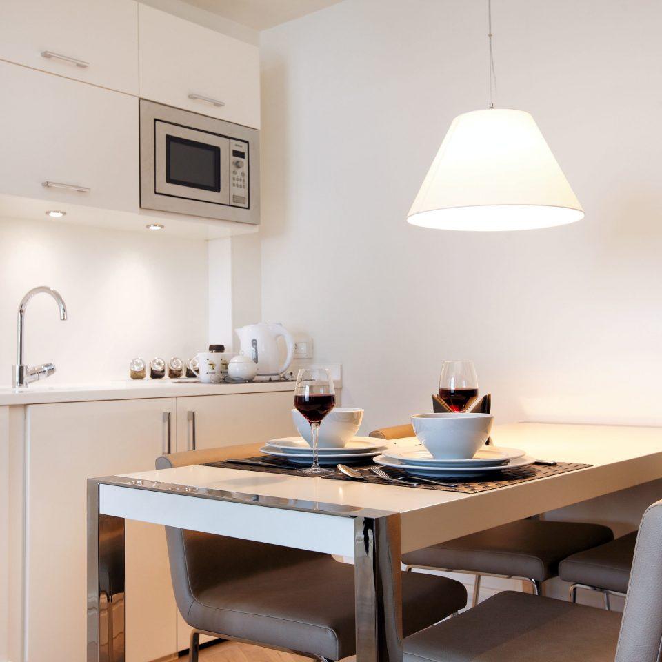 Boutique Budget City Classic Dining Kitchen Suite property desk lighting home cottage lamp