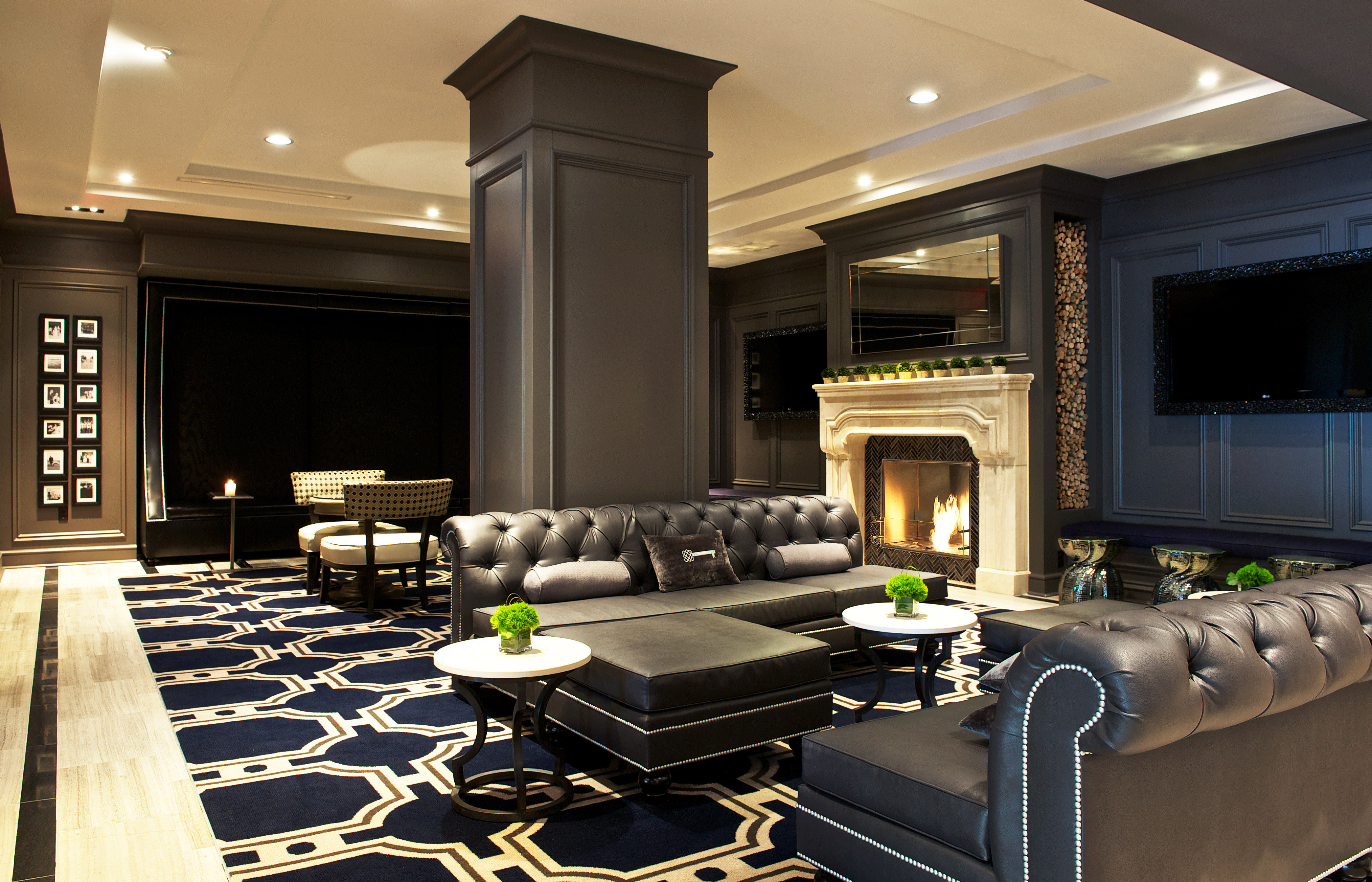 Boutique Budget City Hotels Lobby Lounge Modern property living room home Suite lighting conference hall condominium recreation room mansion conference room