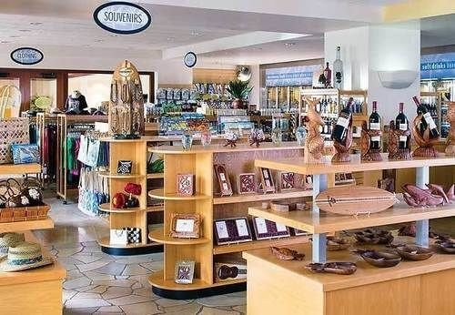 retail building Boutique shelf shopping mall shoe store grocery store cluttered