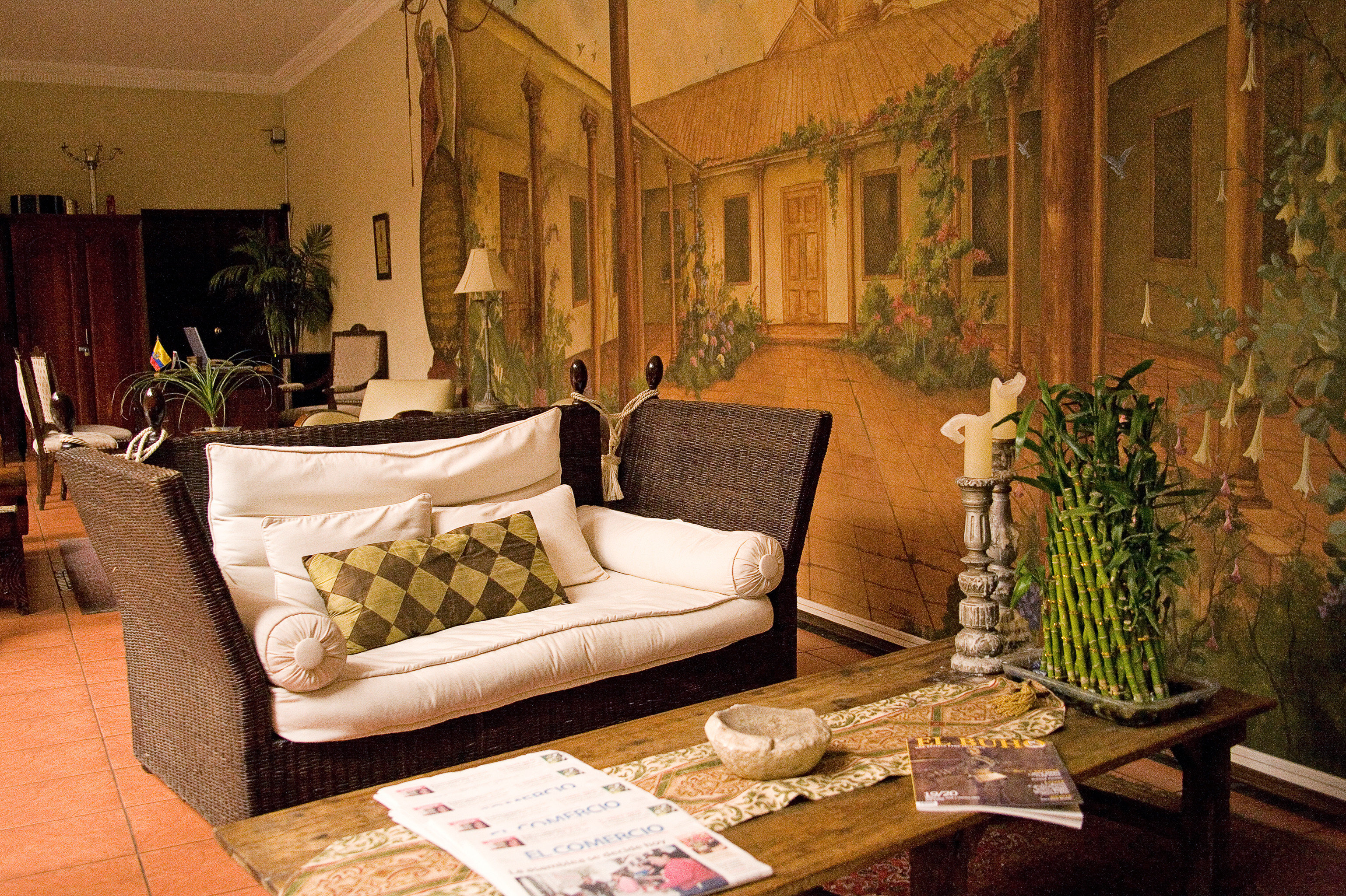 Boutique Business City Lobby Lounge Romantic living room property home mansion Villa cottage