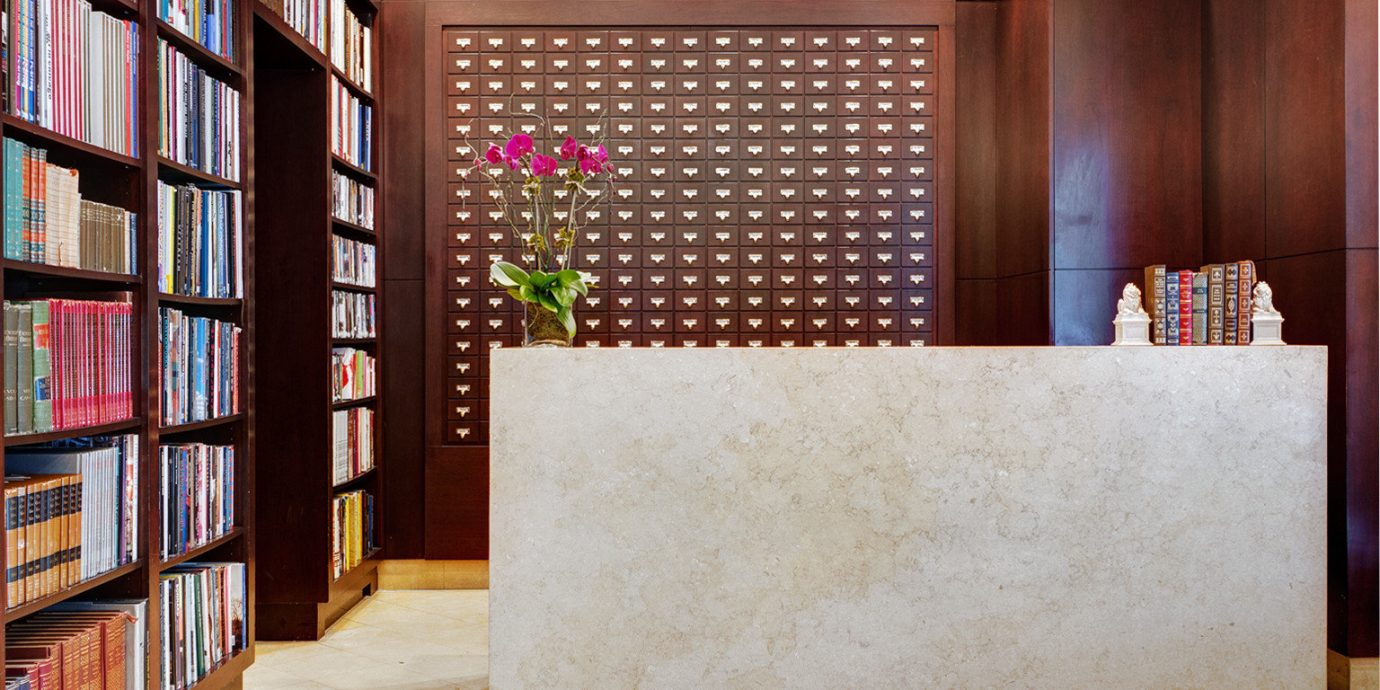 Boutique Business City Lobby Modern shelf book cabinetry bookshelf