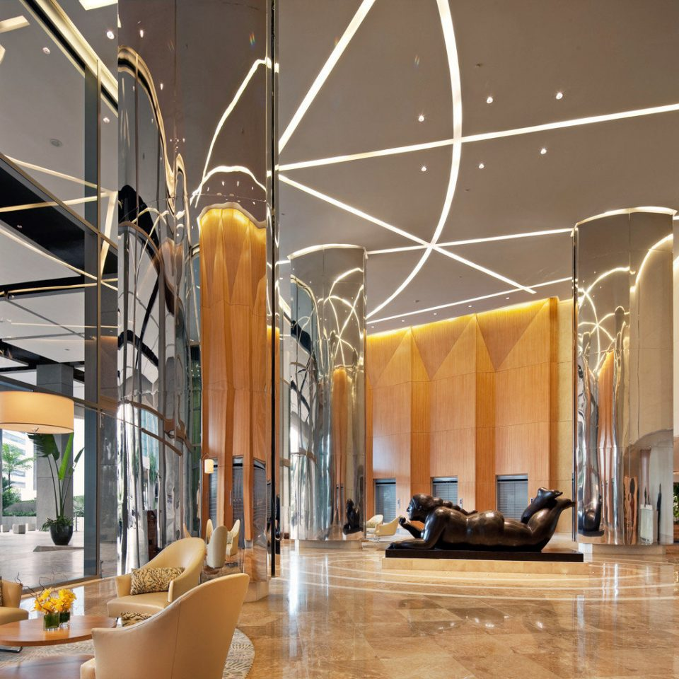 Business City Lobby Lounge Luxury Modern Tropical Boutique lighting retail tourist attraction hall