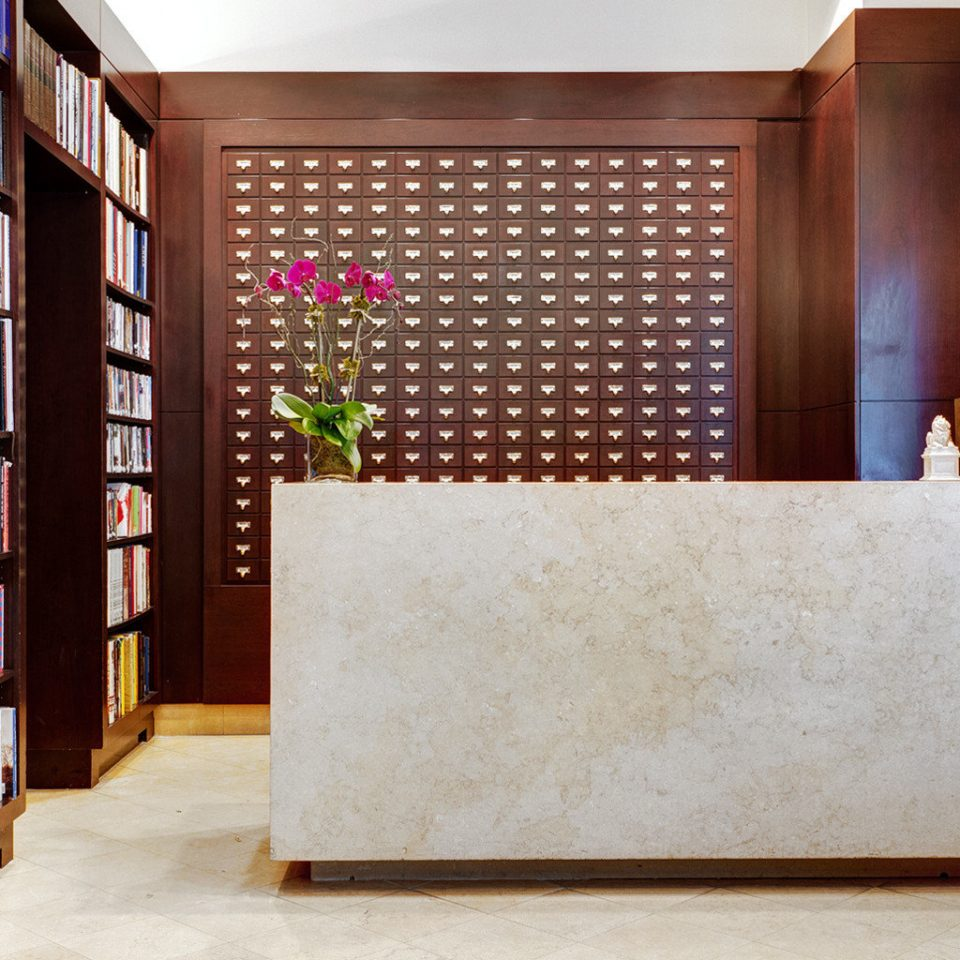 Boutique Business City Lobby Modern shelf book cabinetry bookshelf