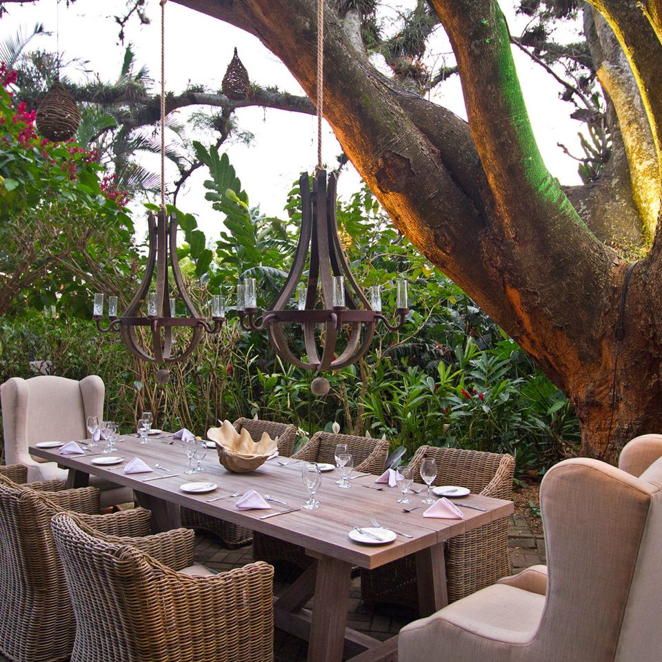 Boutique Business Dining Drink Eat Grounds Modern Outdoors Romantic tree plant restaurant backyard flower Garden outdoor structure Resort