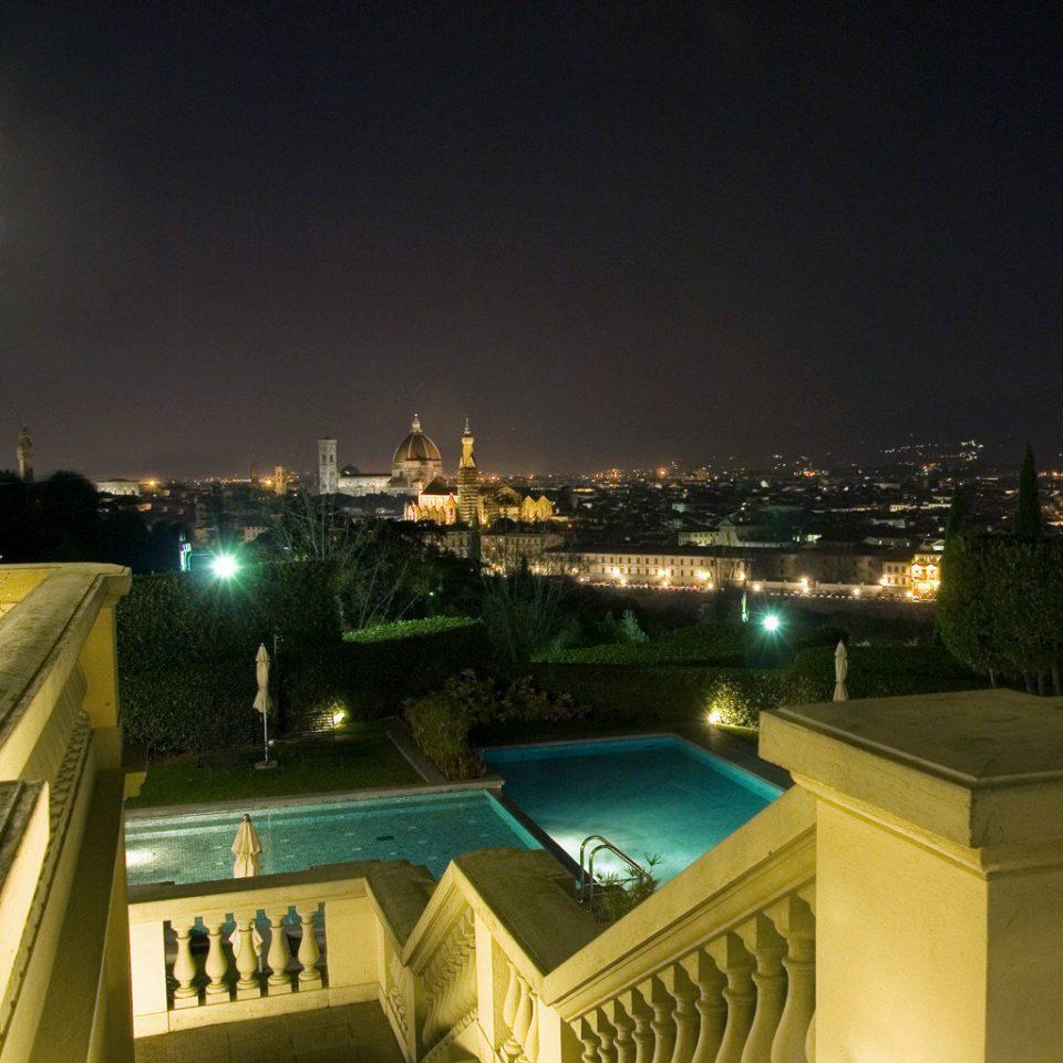 Boutique City Classic Honeymoon Inn Pool Romance Romantic sky night evening
