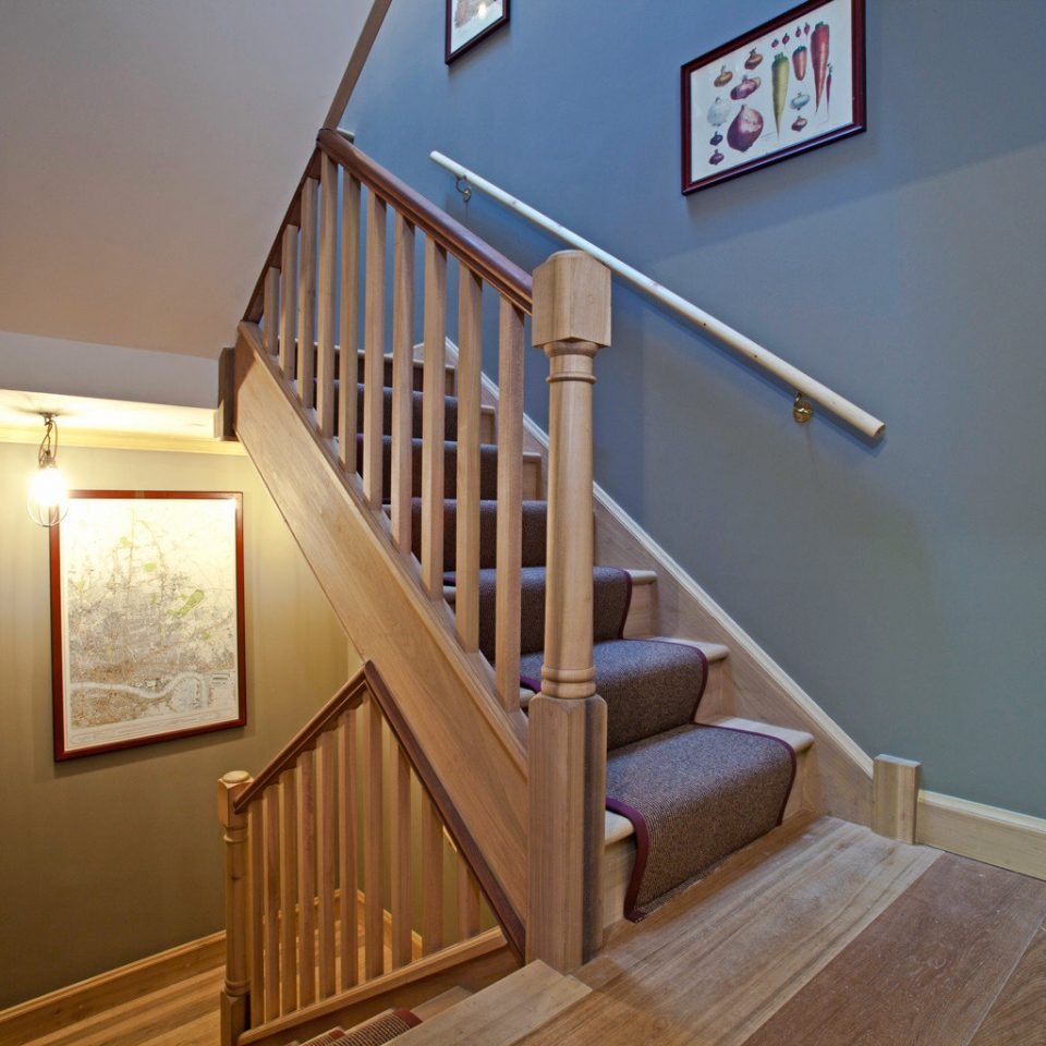 Boutique City stairs property house home hardwood cottage handrail wood flooring flooring hall step