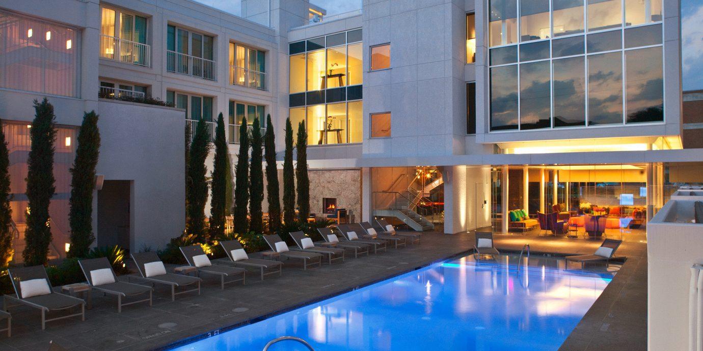 Boutique City Deck Lounge Modern Patio Pool building sky property swimming pool condominium leisure centre plaza home headquarters convention center