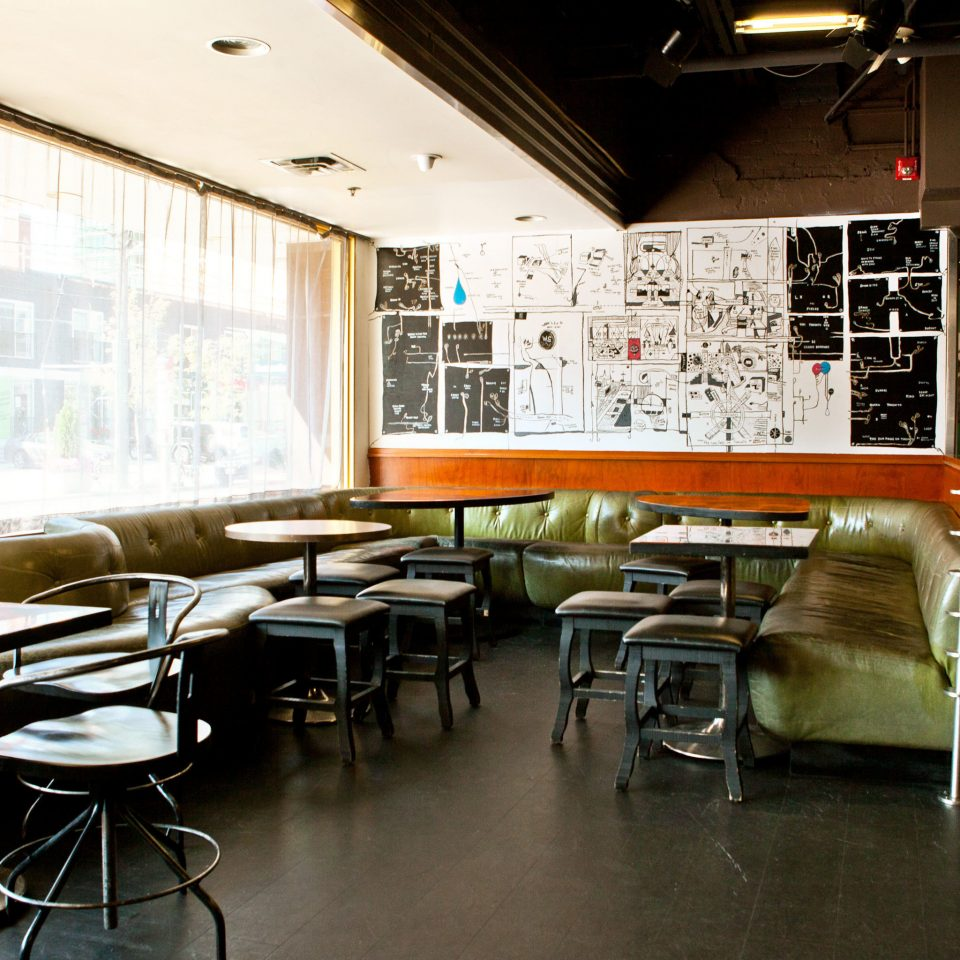 Boutique City Dining Drink Eat Hip Modern building restaurant classroom