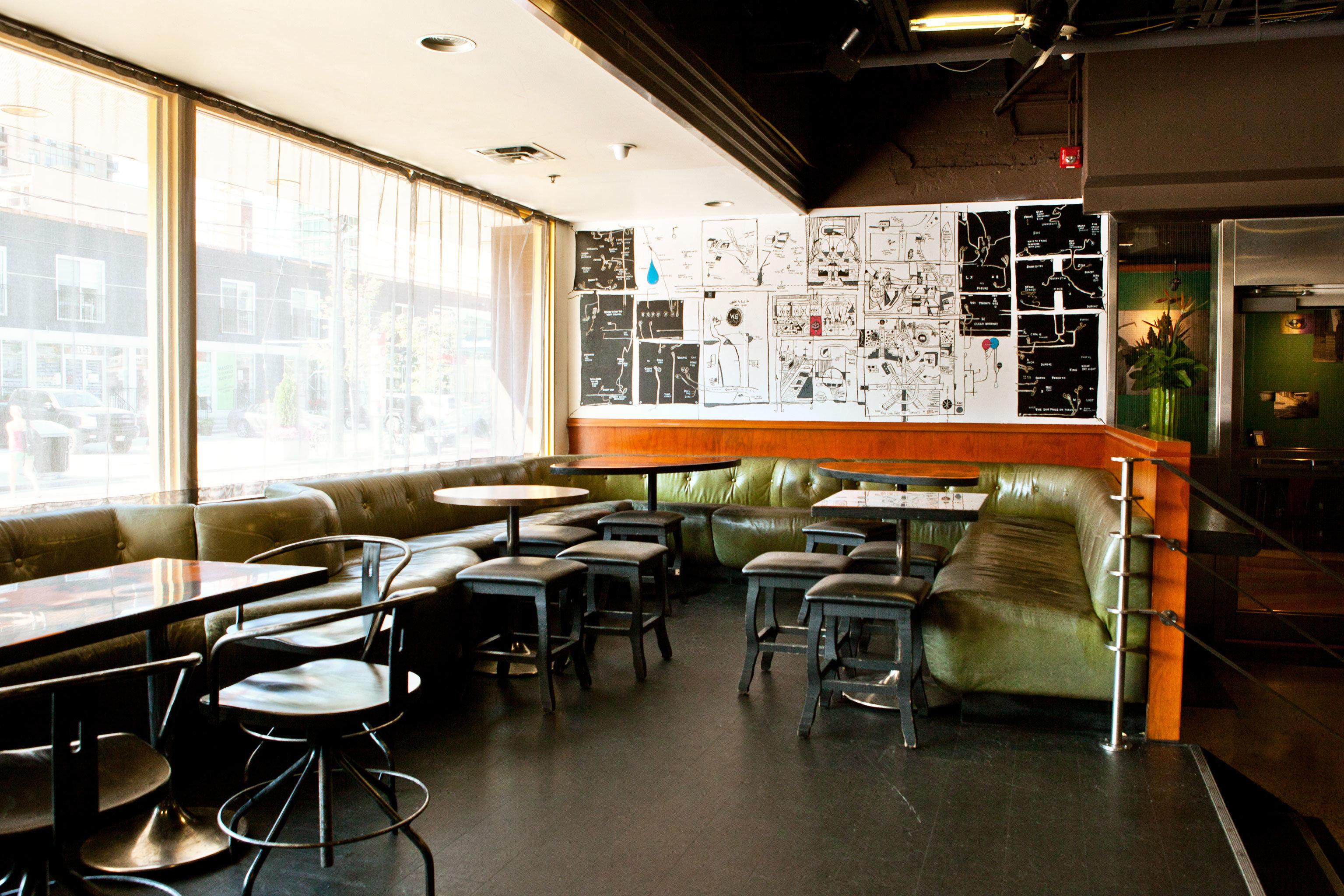Boutique City Dining Drink Eat Hip Modern building restaurant classroom