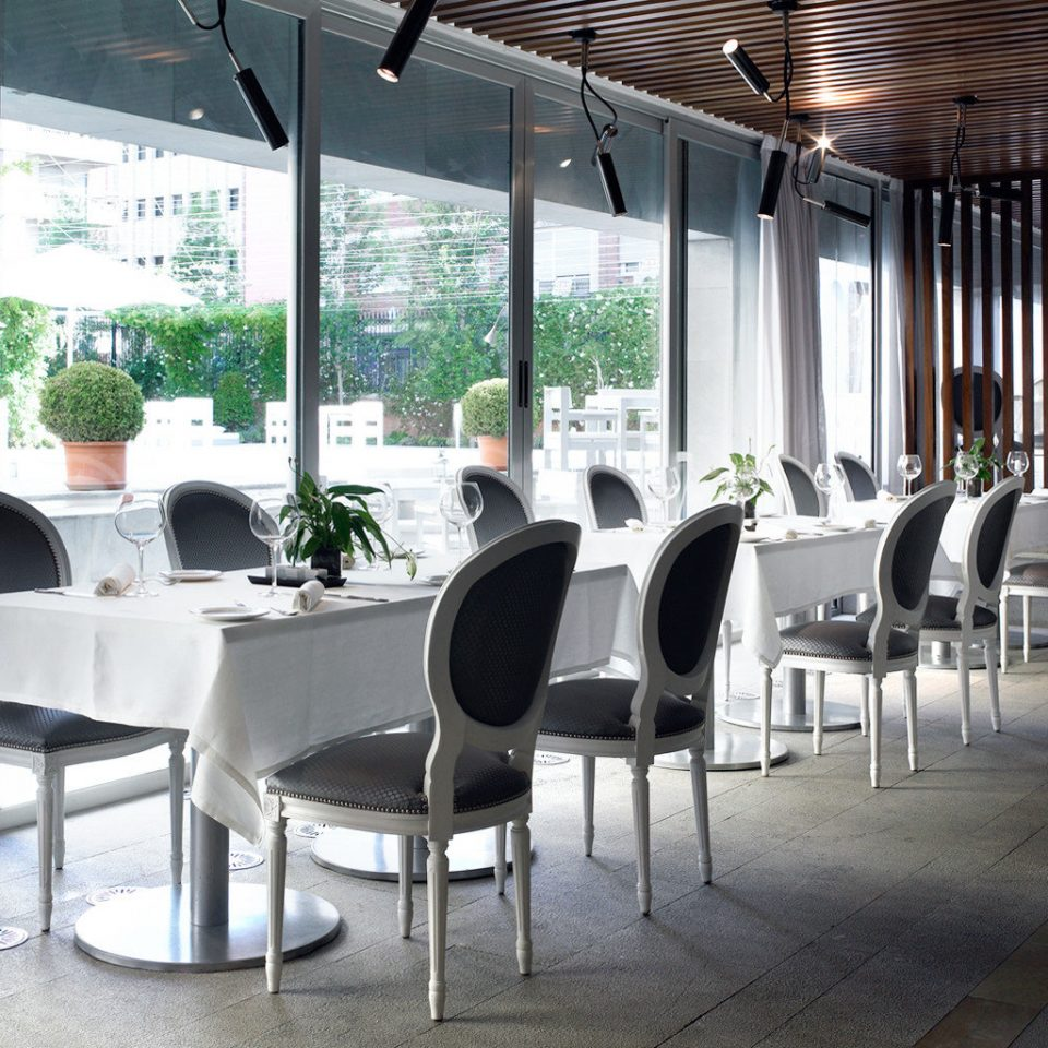 Boutique City Dining Eat Hip Modern chair restaurant cafeteria Lobby convention center dining table