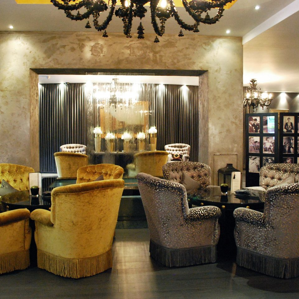 City Drink Elegant Lobby Lounge Boutique restaurant