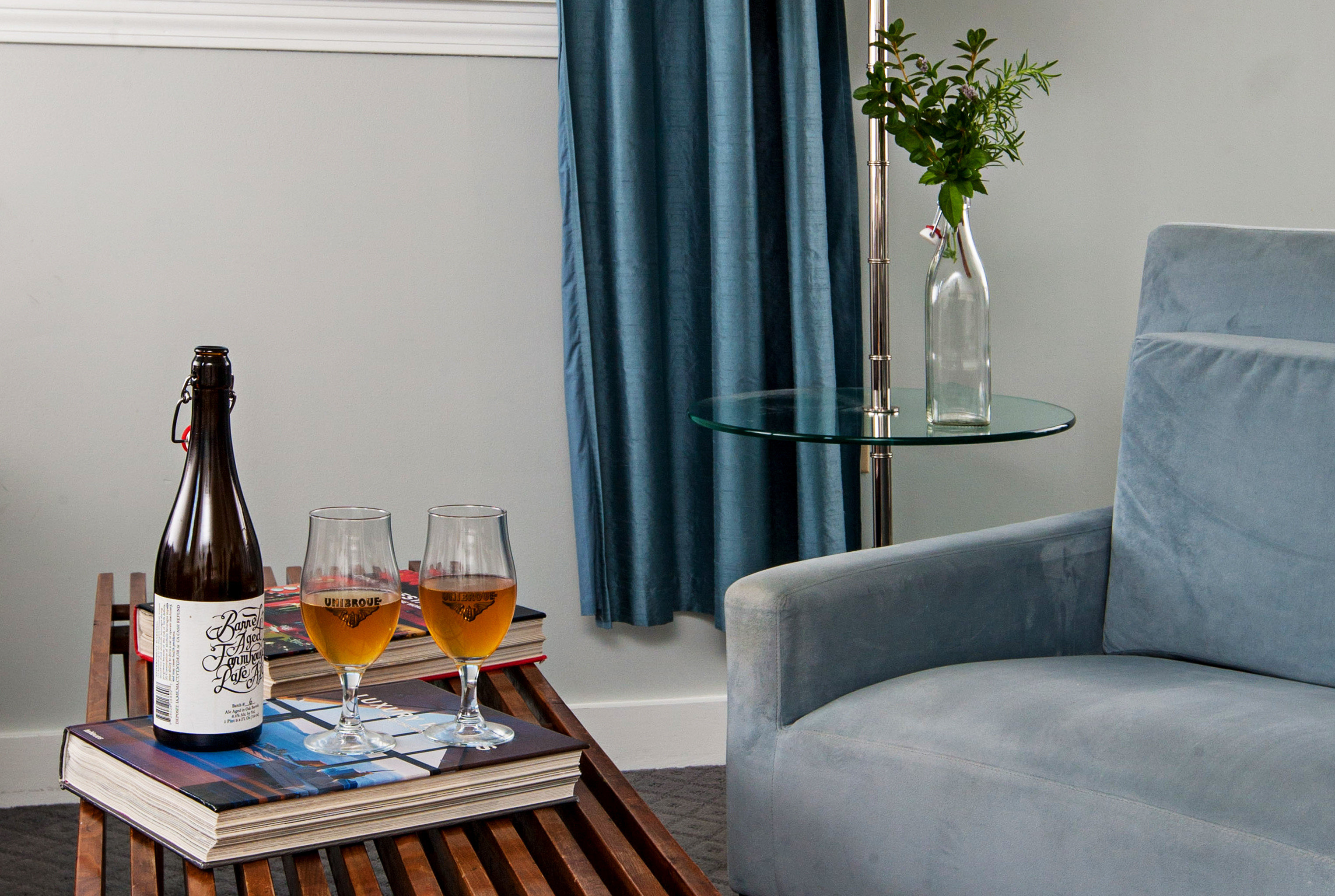 Boutique City Drink Hip Inn Romance Secret Getaways Trip Ideas blue living room house home cottage seat sofa