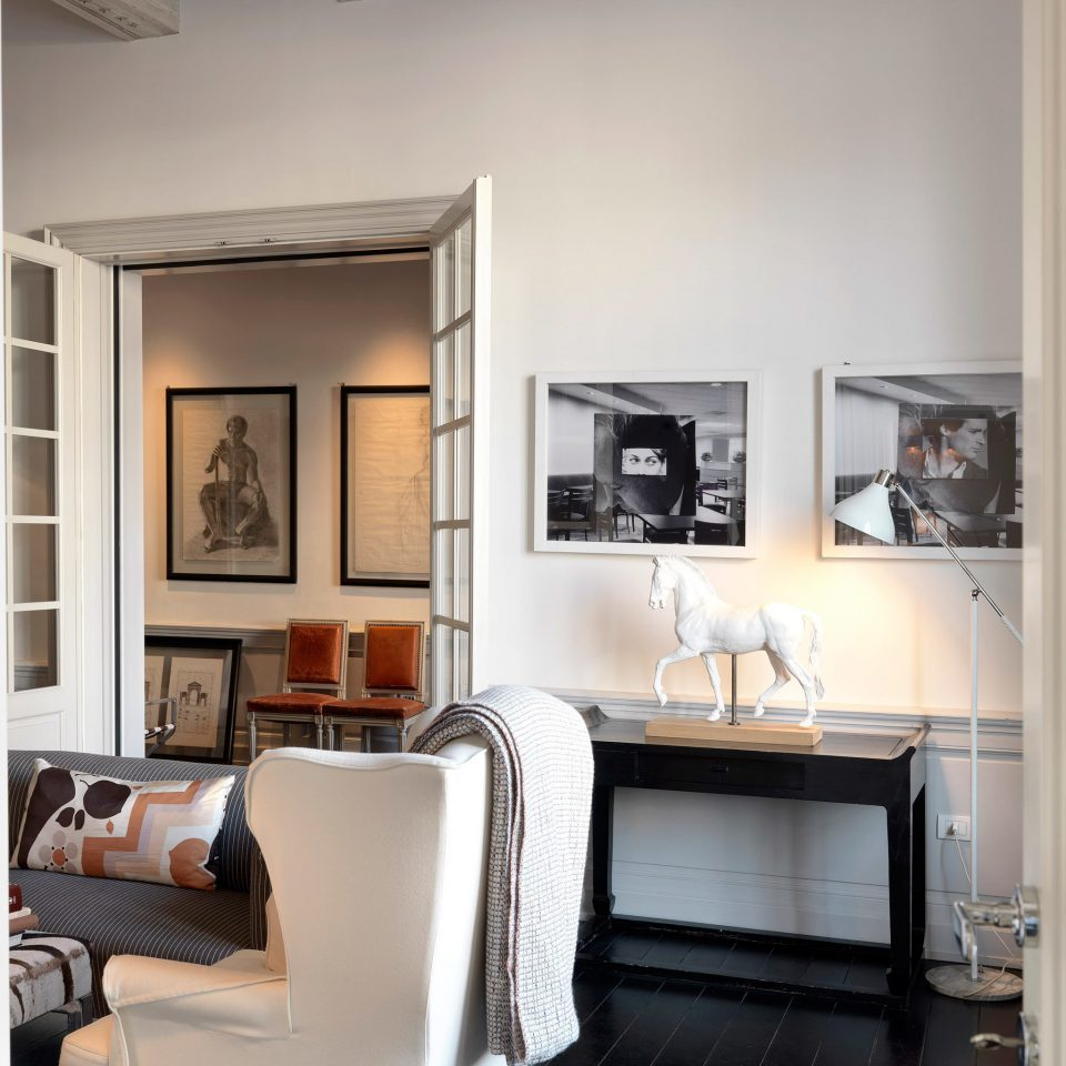 Boutique City Elegant Florence Hotels Italy Lounge Romance Romantic living room property home cabinetry condominium loft leather
