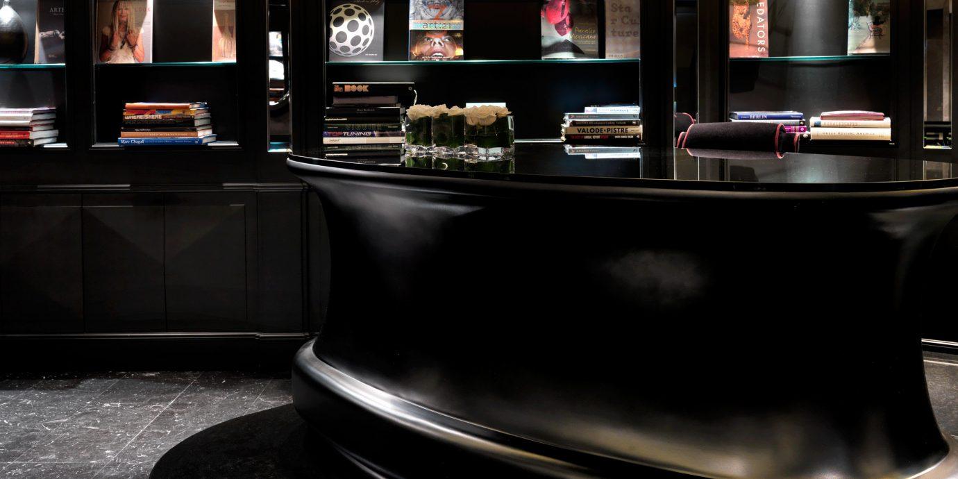 Boutique City Hip Honeymoon Lobby Modern Romance Romantic shelf machine