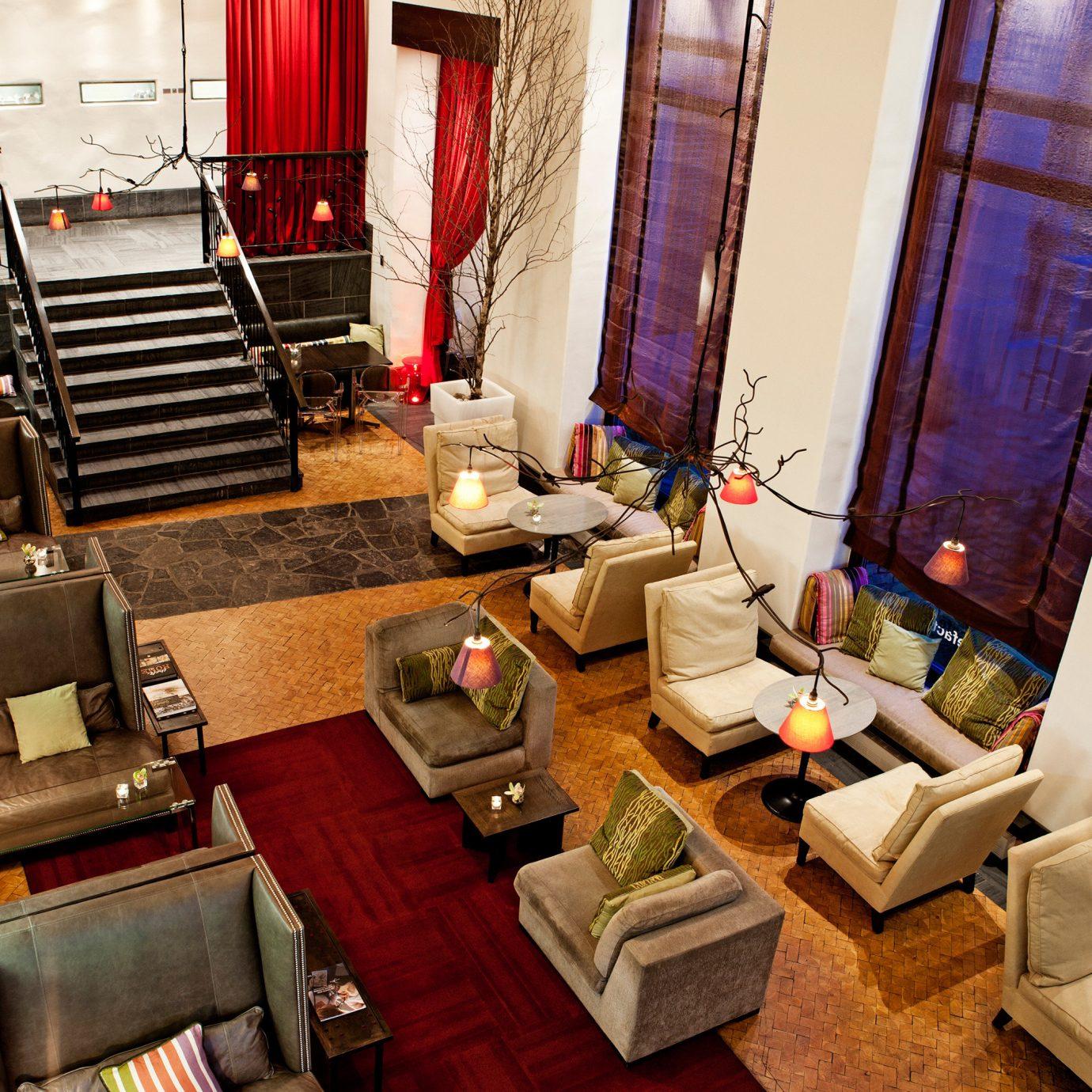 Boutique City Hip Lobby Lounge home living room restaurant Suite