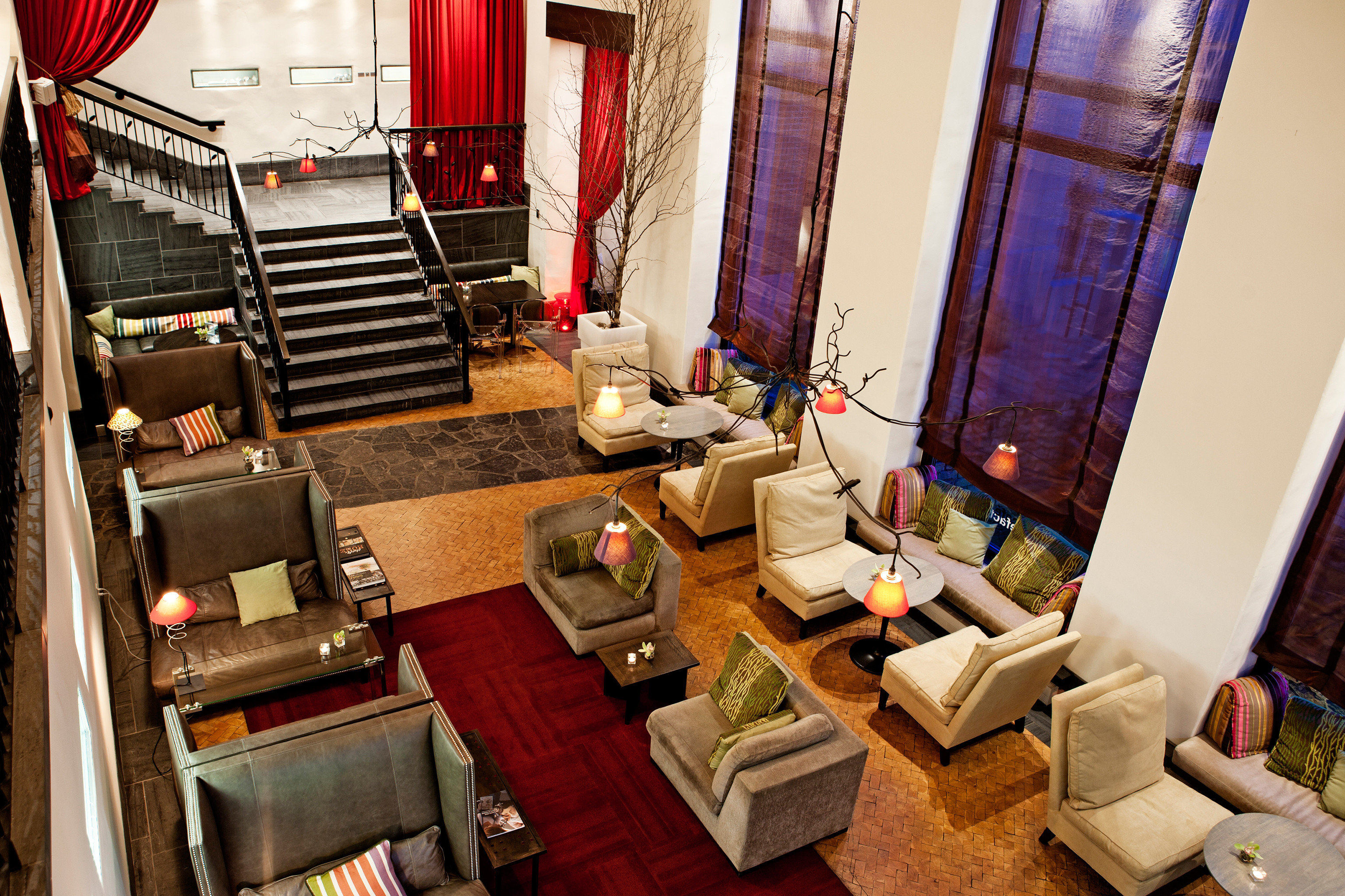 Boutique City Hip Lobby Lounge home living room restaurant Suite