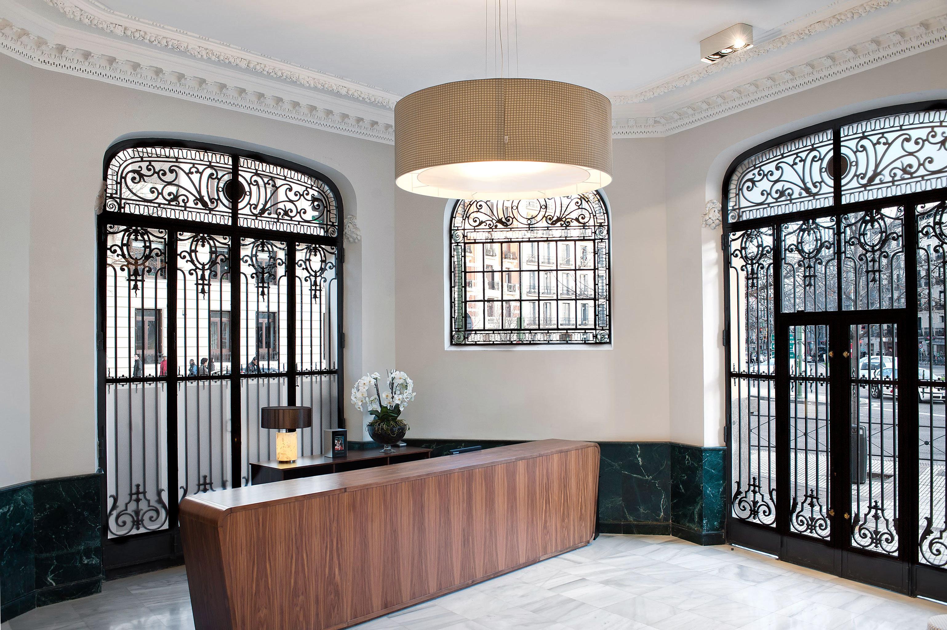 Boutique City Hip Lounge Modern property home lighting living room cabinetry hall mansion tub tiled