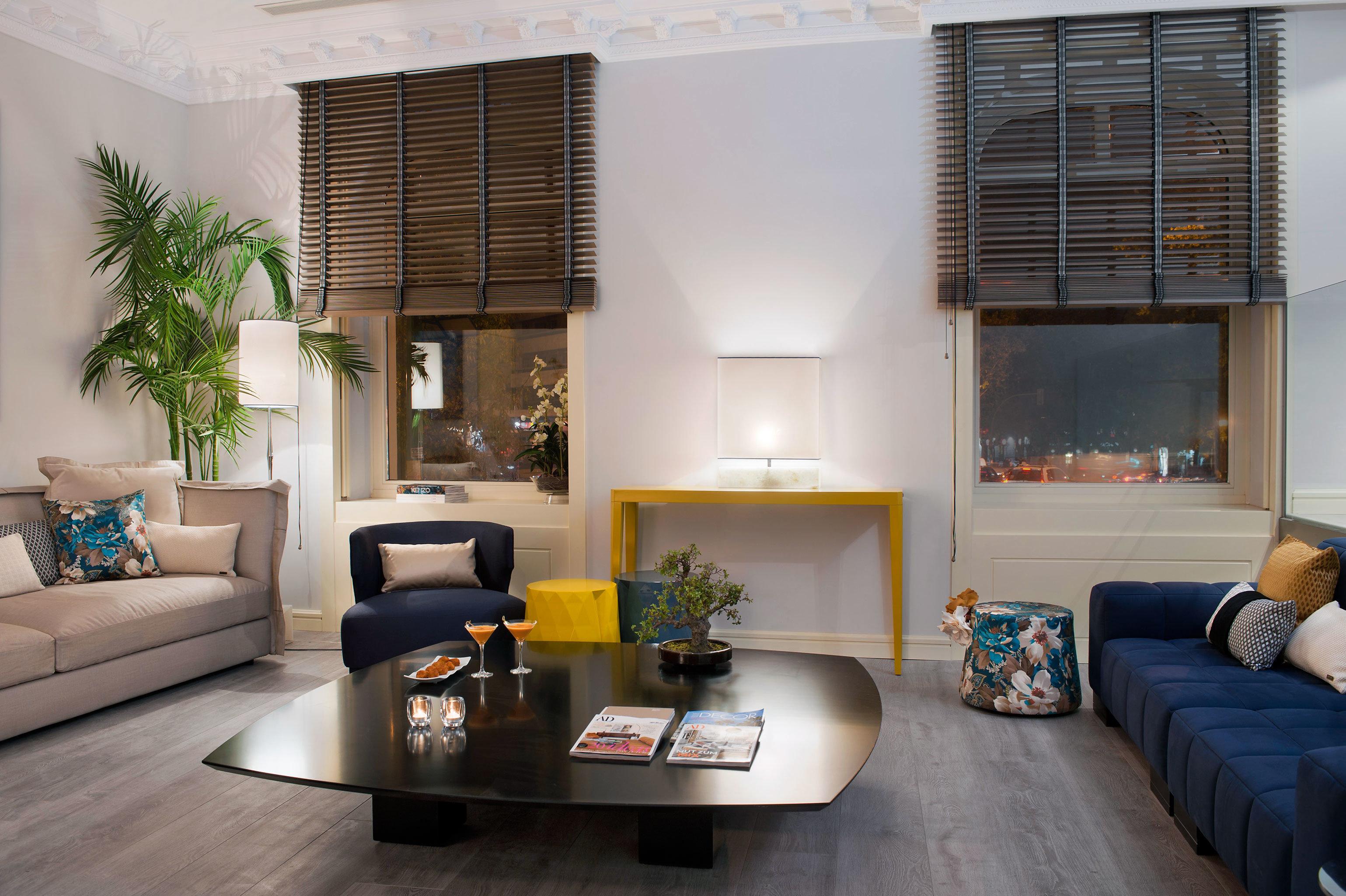 Boutique City Hip Modern Suite sofa living room property condominium home house loft