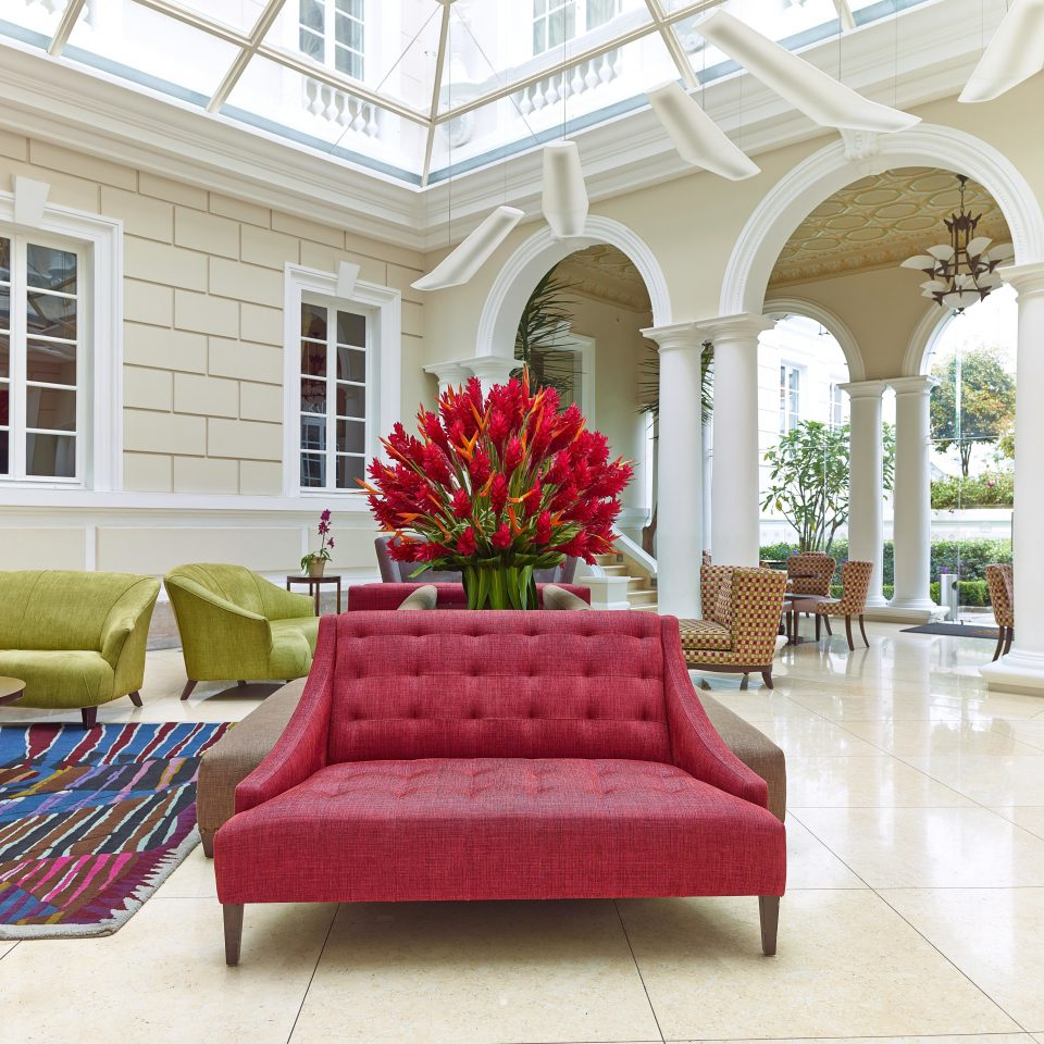 Boutique City Lobby red living room property home porch flooring