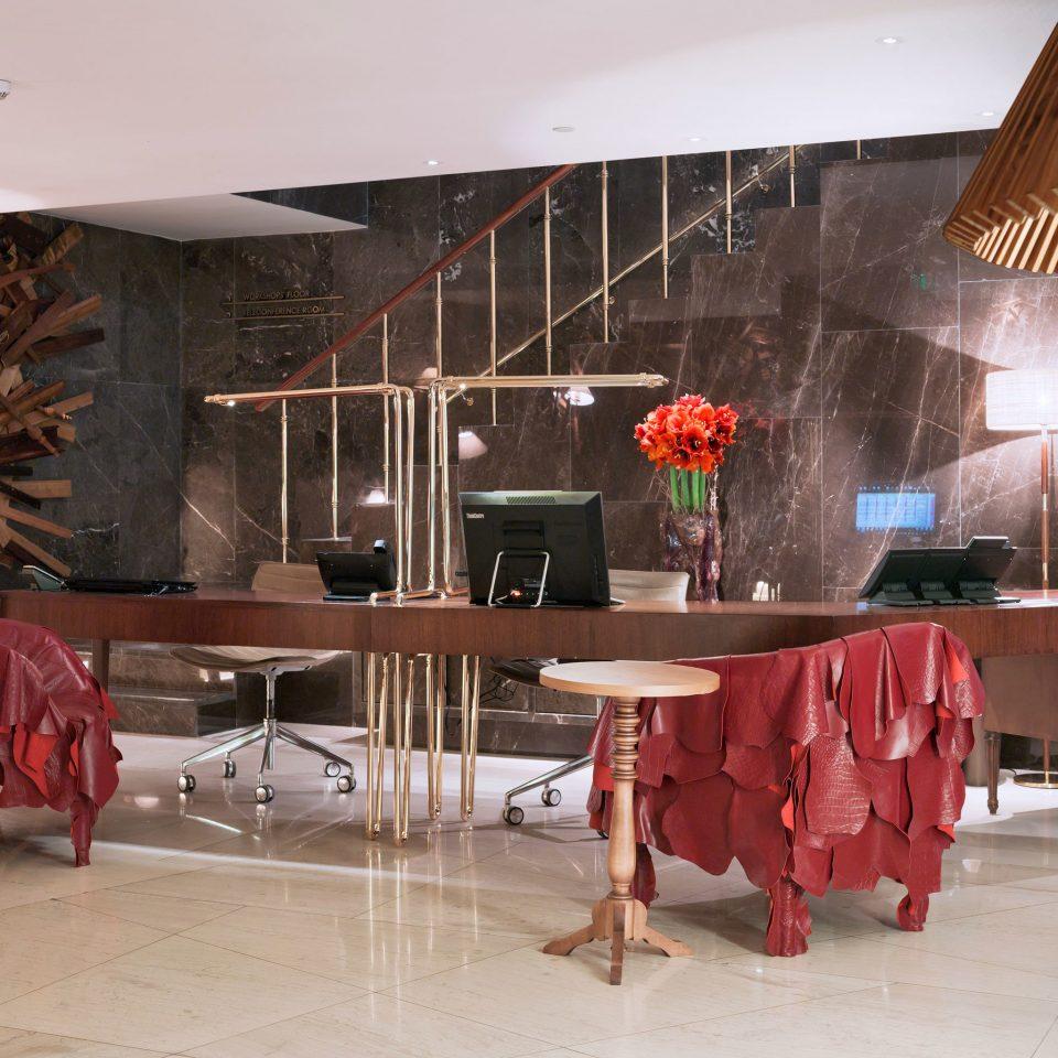 Boutique City Lobby restaurant home