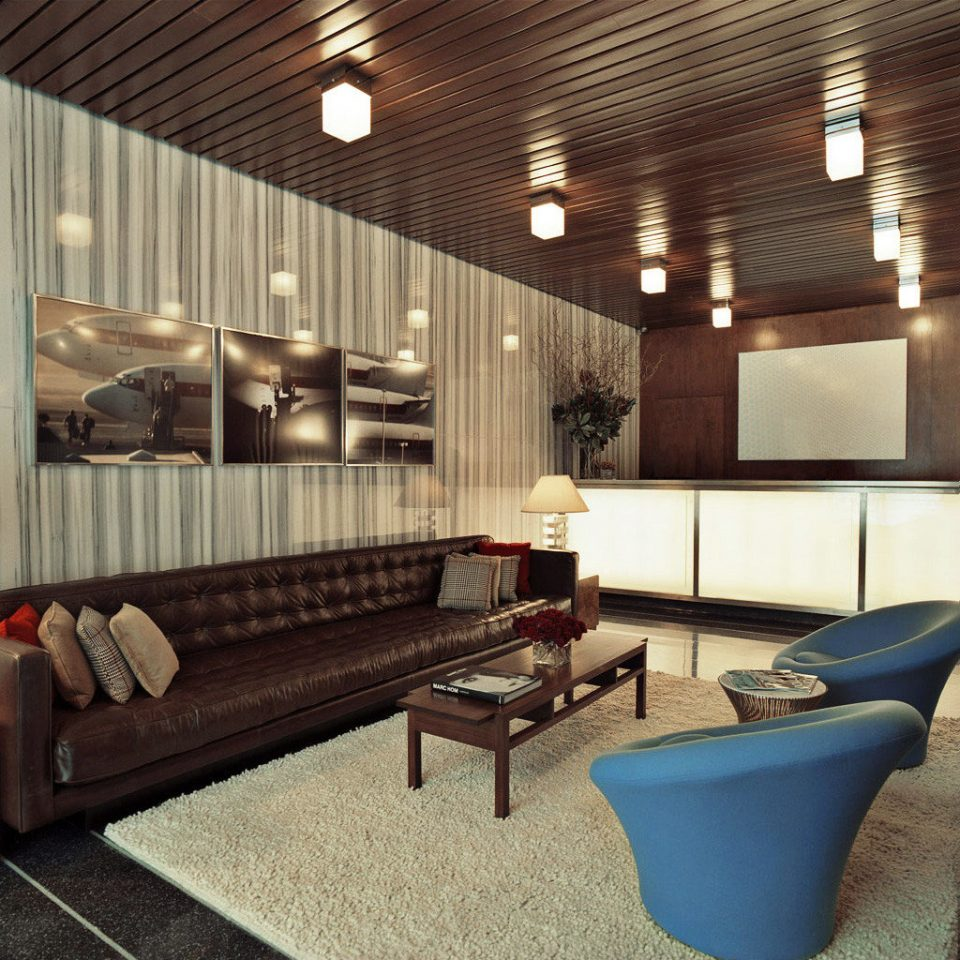 Boutique City Lobby Lounge Modern living room property lighting recreation room flooring Suite
