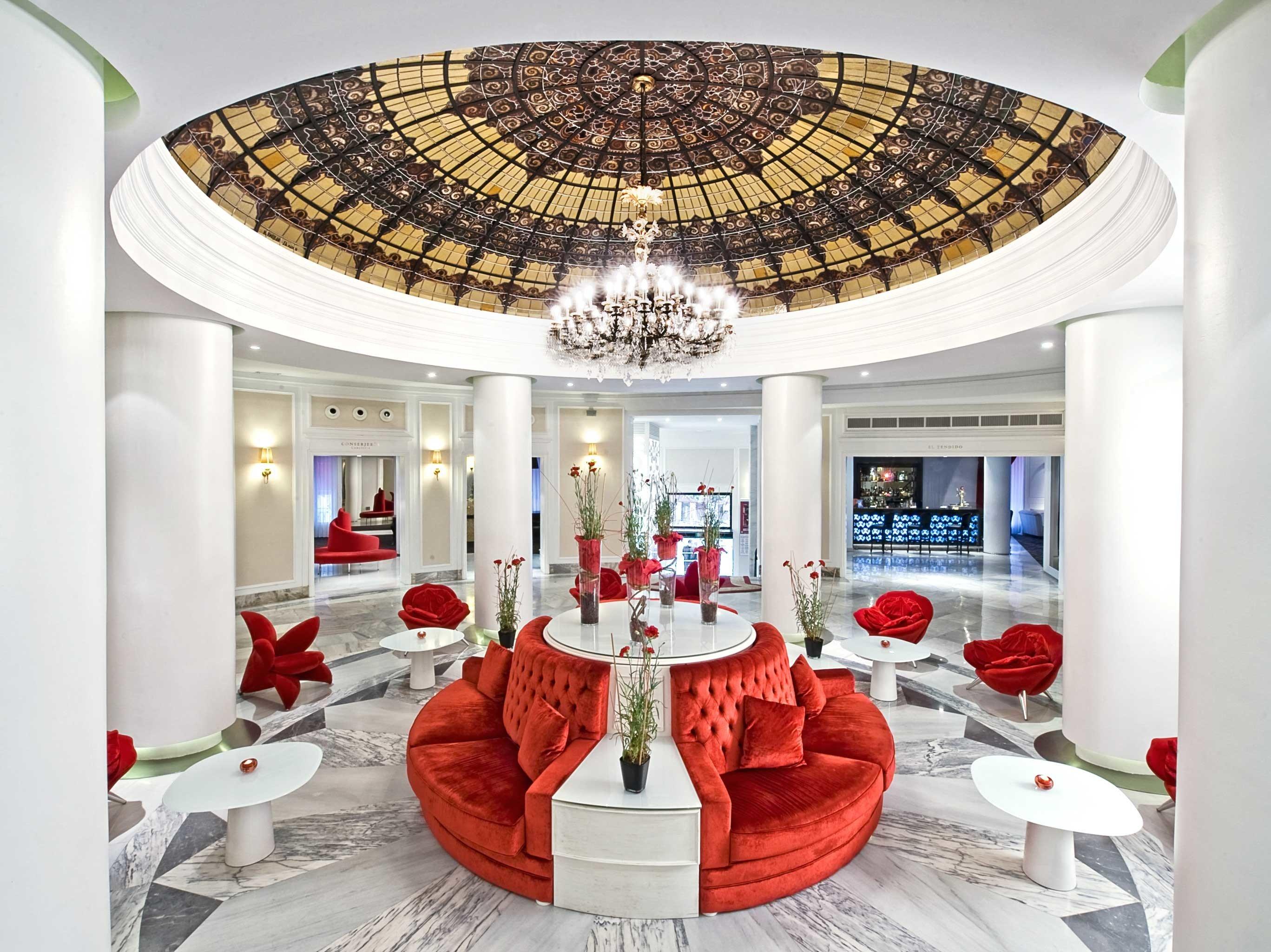 Boutique City Lobby Lounge property red living room mansion home function hall restaurant