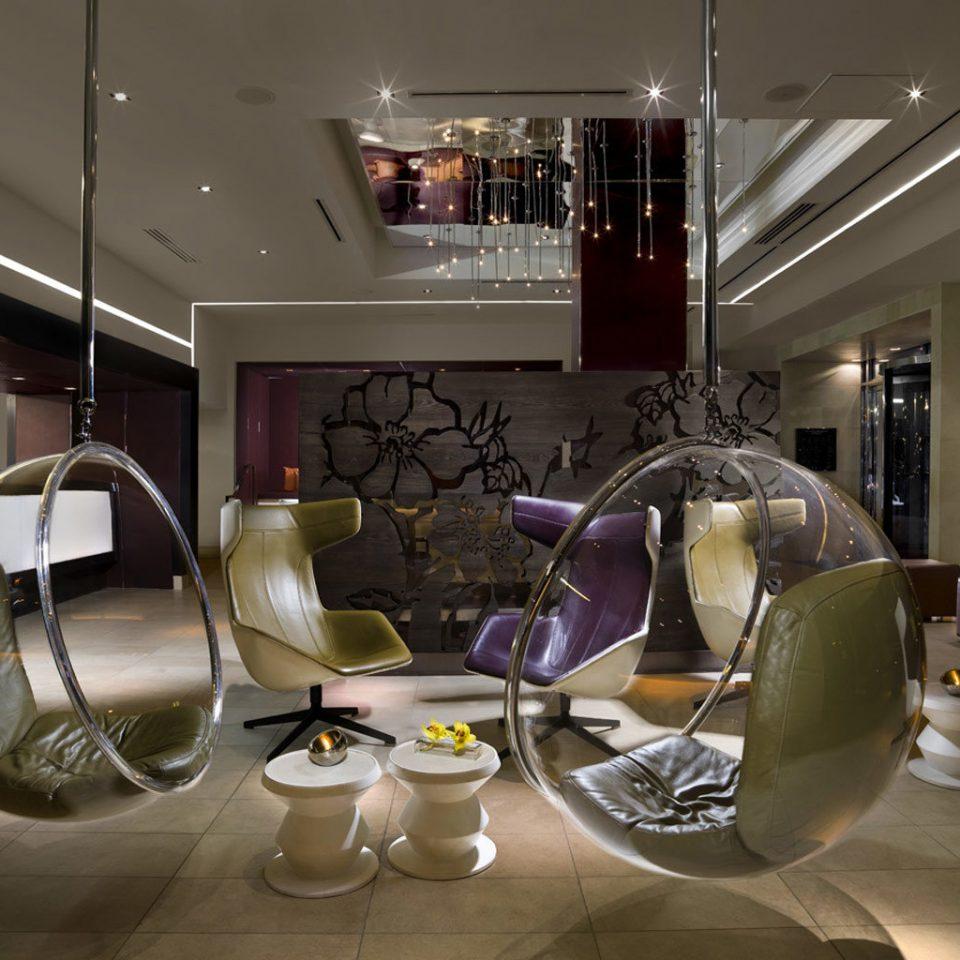 Boutique City Lobby Lounge Modern living room lighting