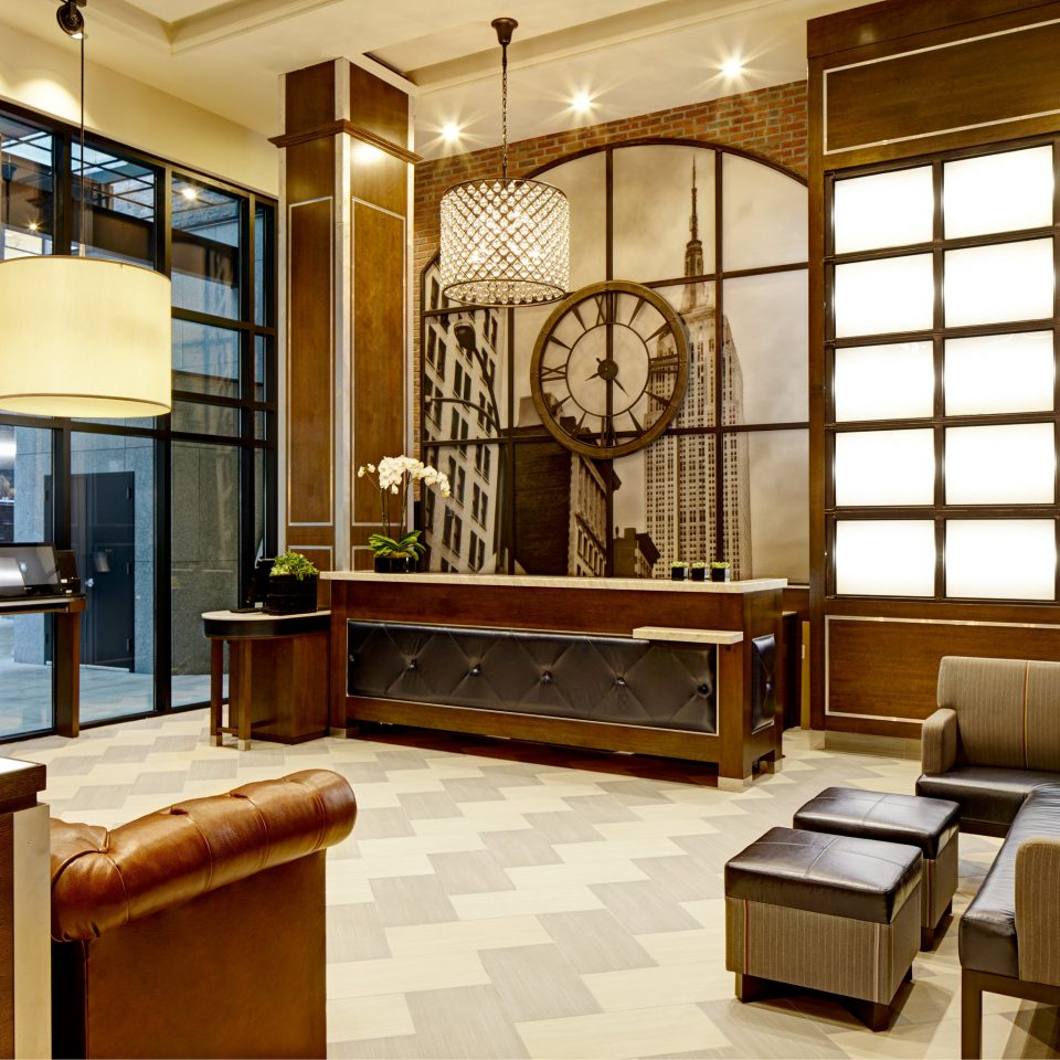 Boutique City Lobby Lounge Modern property living room home cabinetry condominium