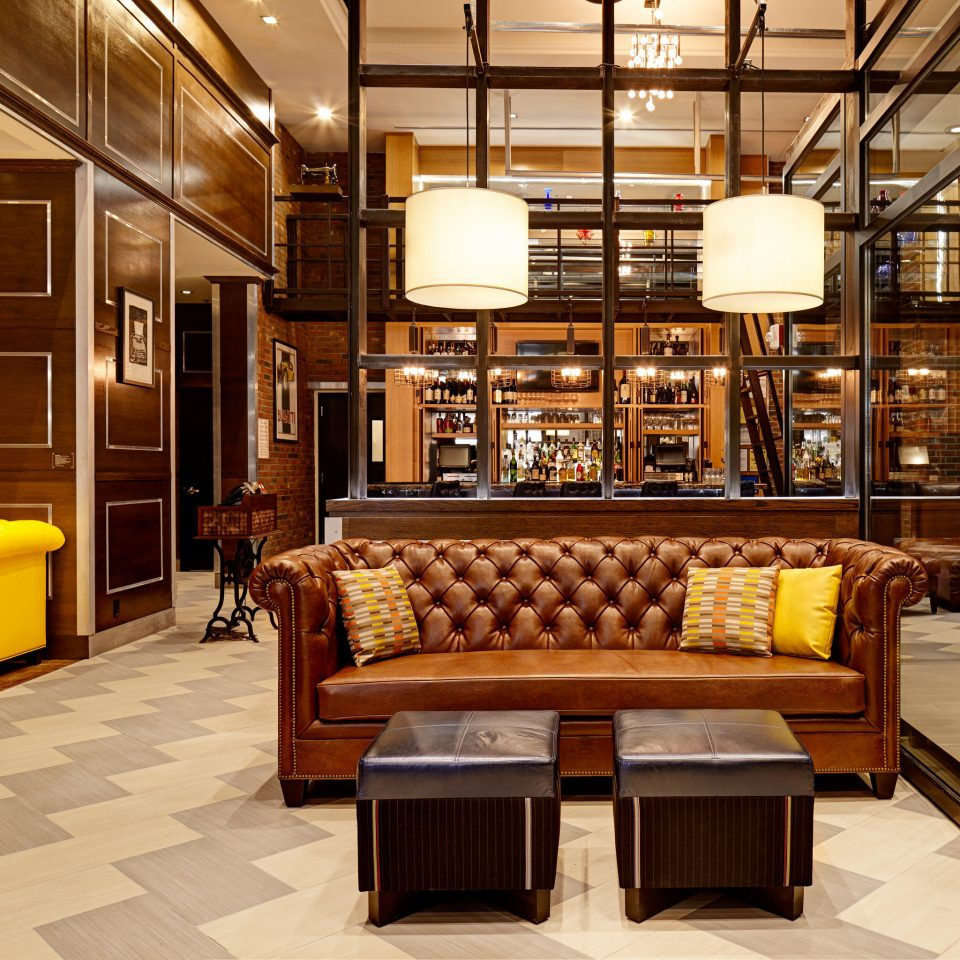 Boutique City Lobby Lounge Modern property cabinetry home living room lighting mansion recreation room