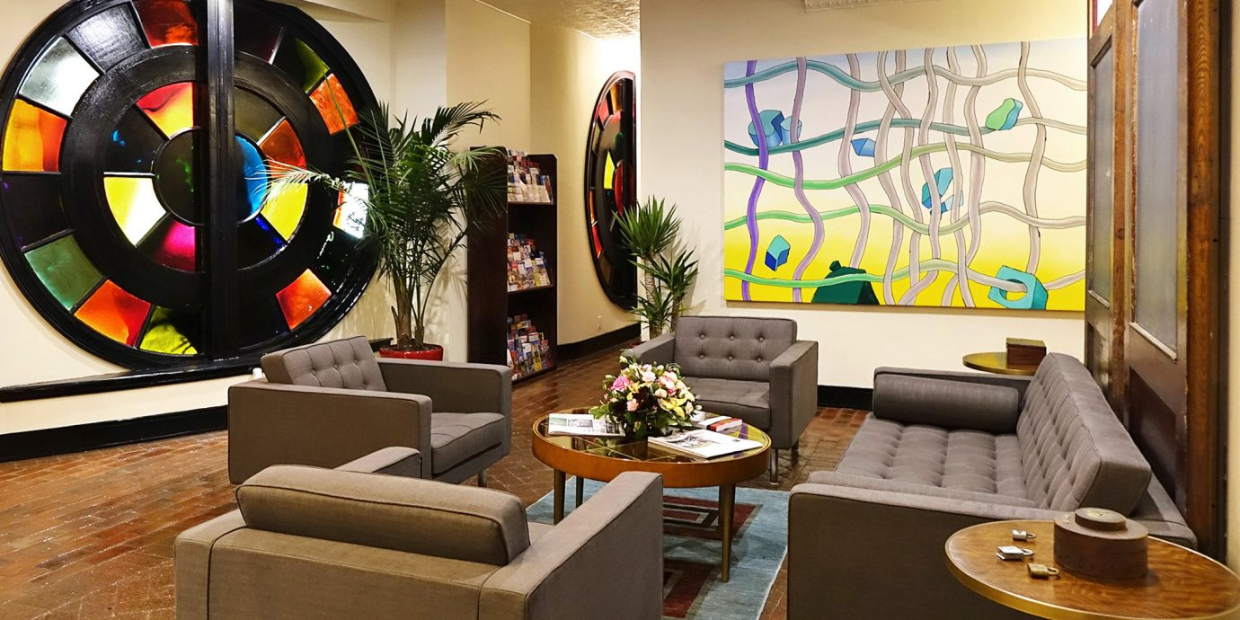 Boutique City Lounge Modern recreation room living room home Lobby