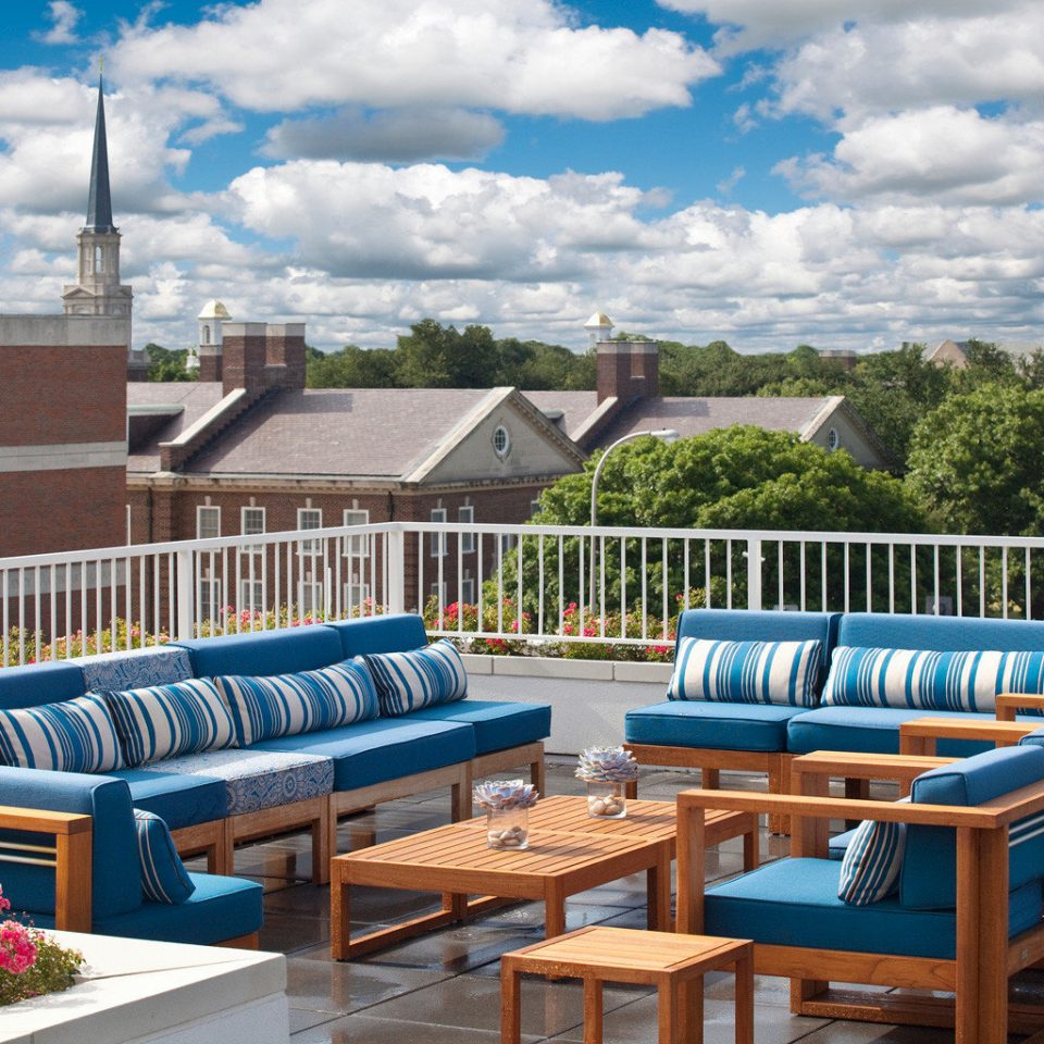 Boutique City Lounge Modern Rooftop leisure swimming pool Resort walkway outdoor structure