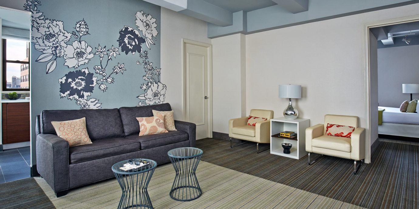 Boutique City Modern property living room home condominium cottage Suite