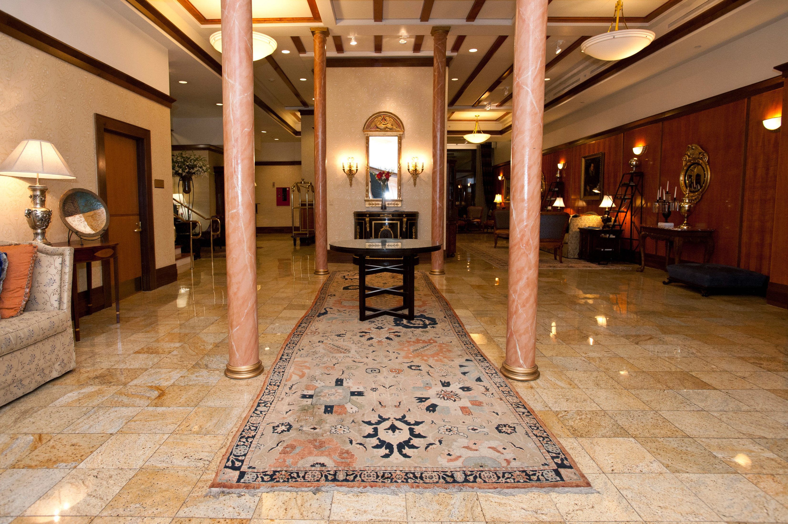 Boutique Classic Elegant Historic Lobby flooring
