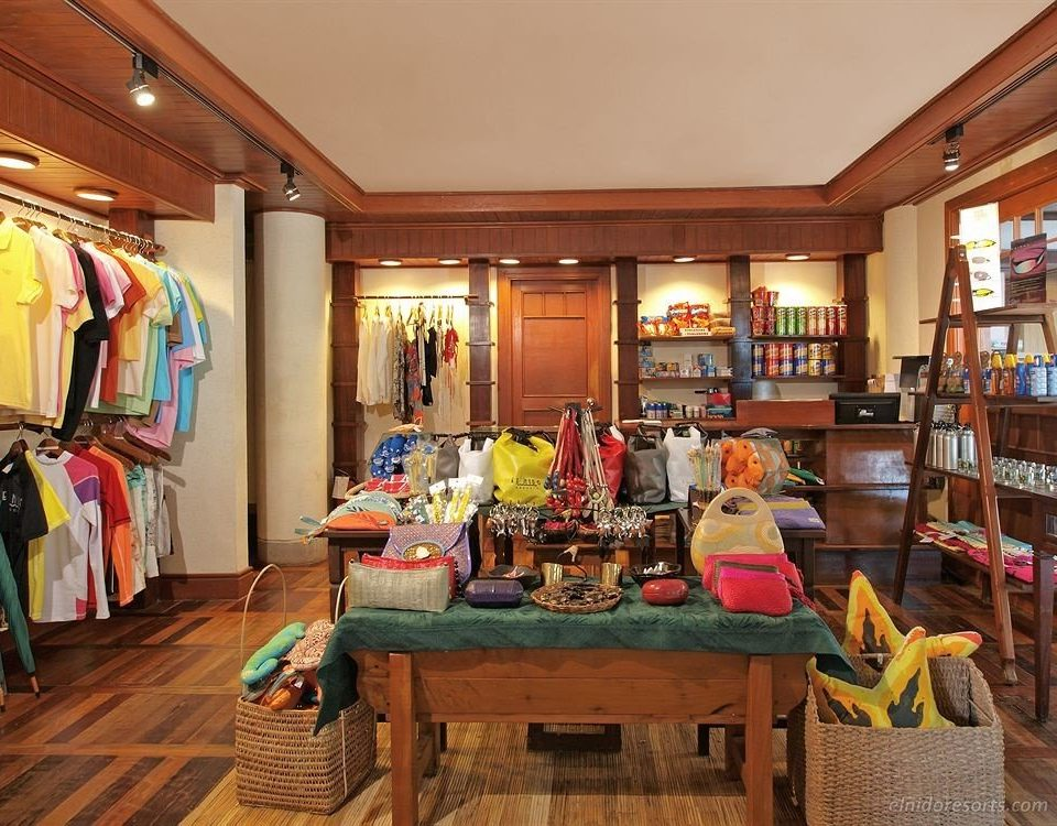 scene home Boutique cluttered