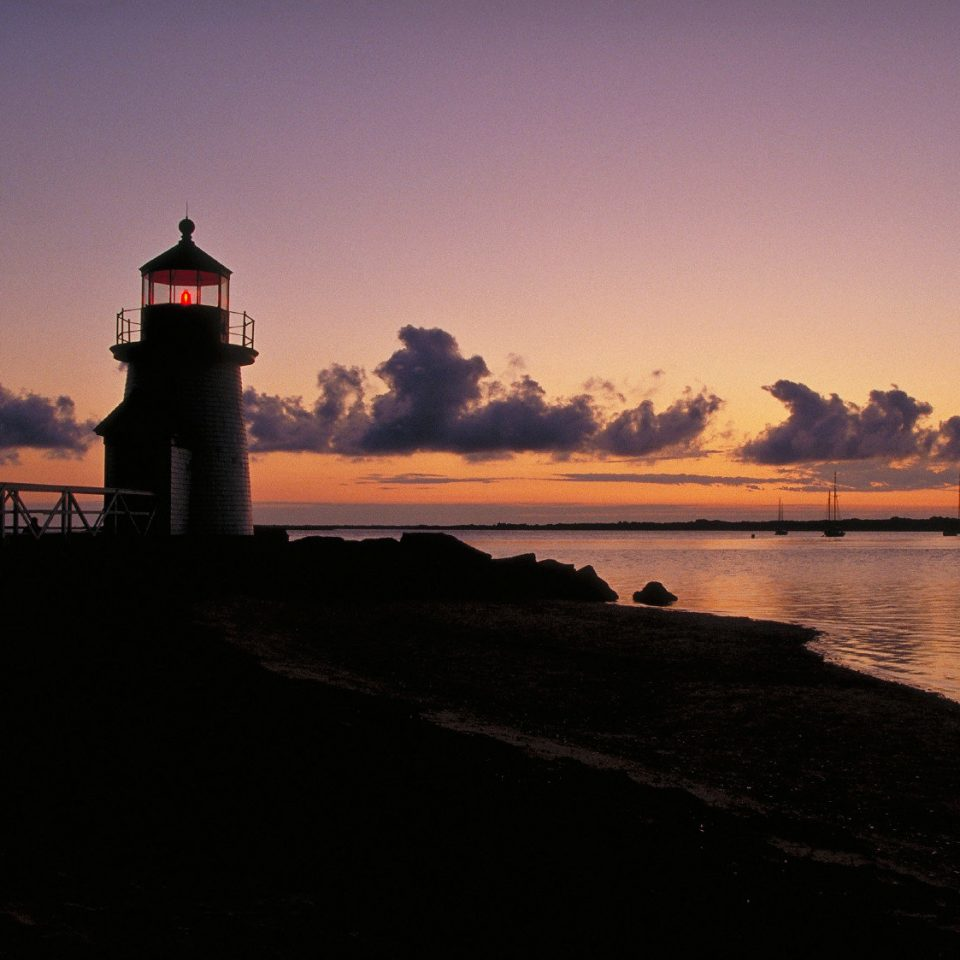 Boutique Inn Outdoors Scenic views Waterfront sky water tower lighthouse Sunset Sea horizon dawn dusk Coast River evening sunrise morning Ocean afterglow traveling distance