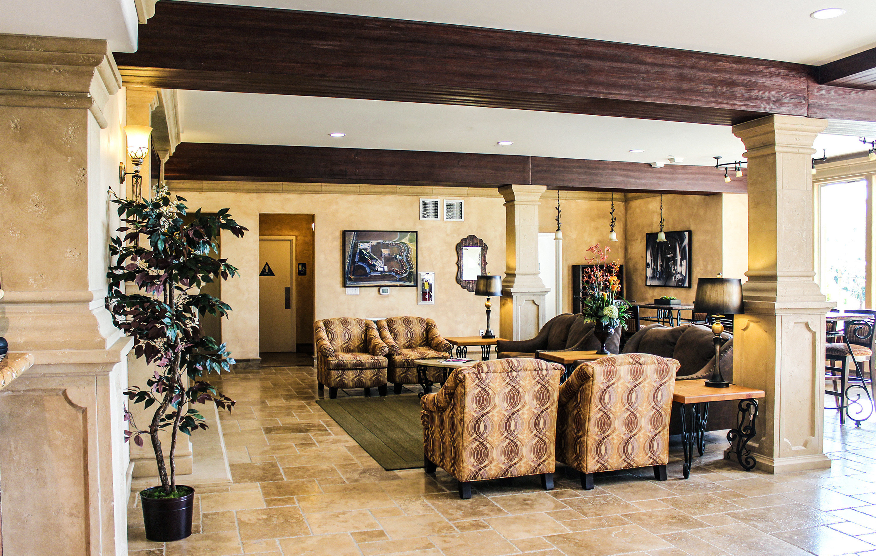 Boutique Country Lobby Lounge Romantic Winery property living room home Suite