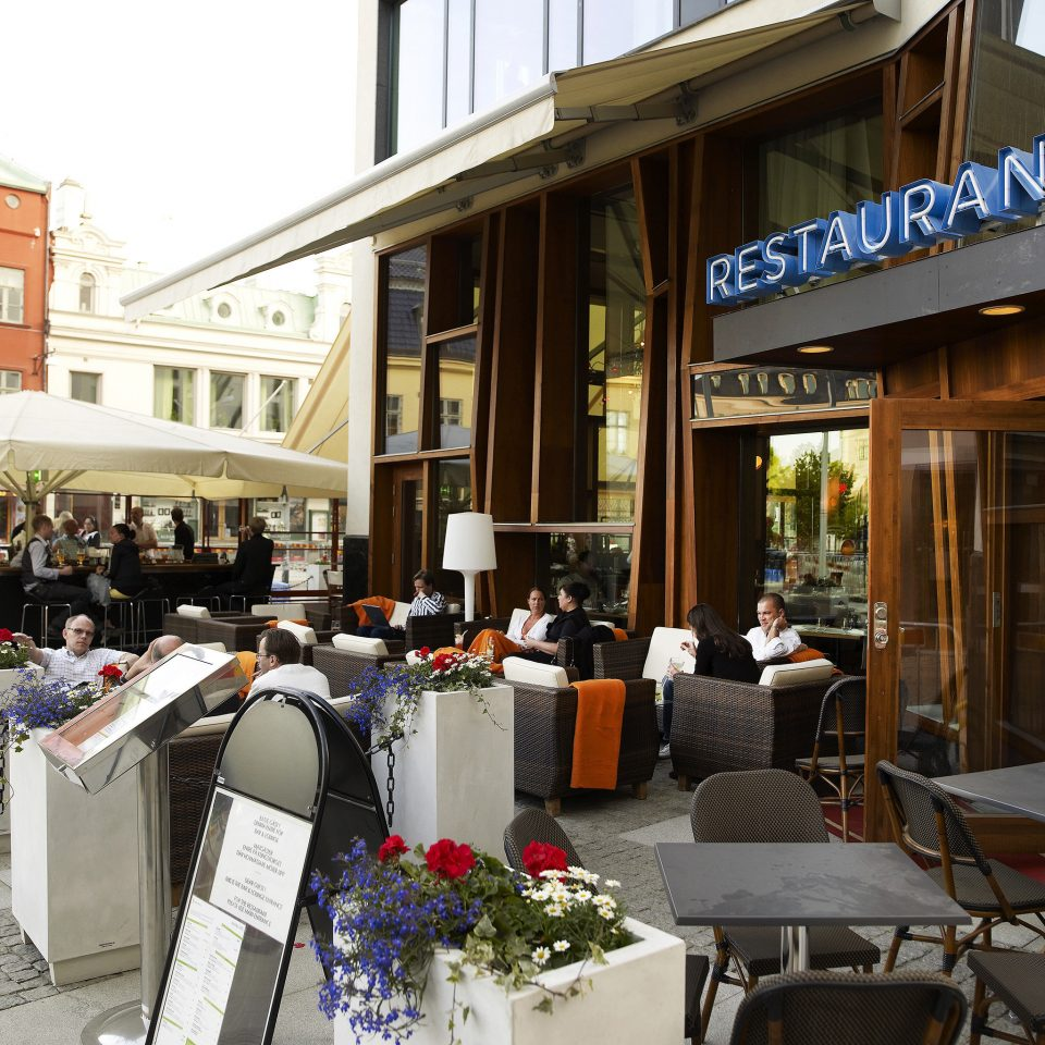 Boutique Courtyard Dining Drink Eat Hip Patio Terrace building restaurant