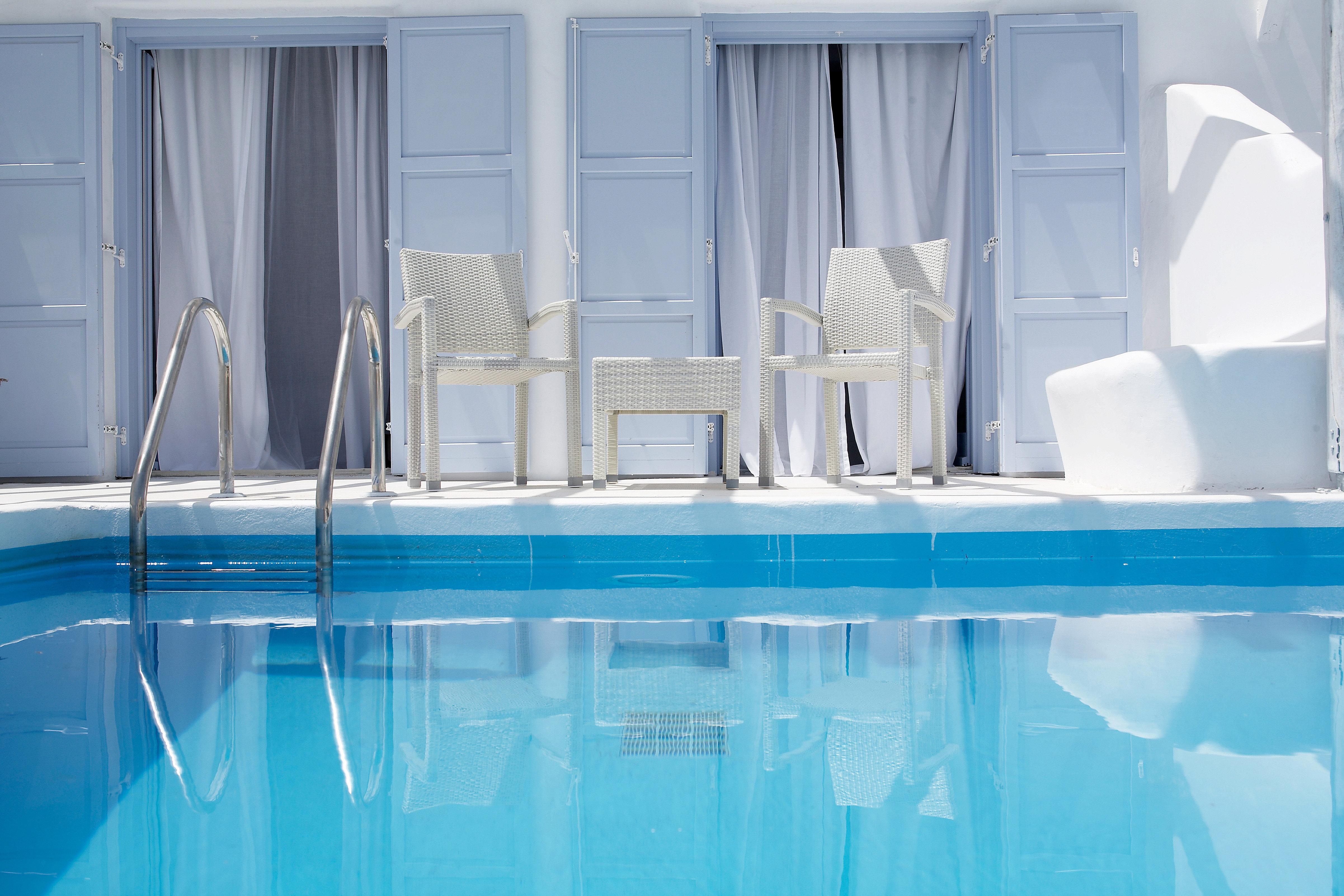 Boutique Deck Luxury Pool Scenic views swimming pool blue plumbing fixture bathtub