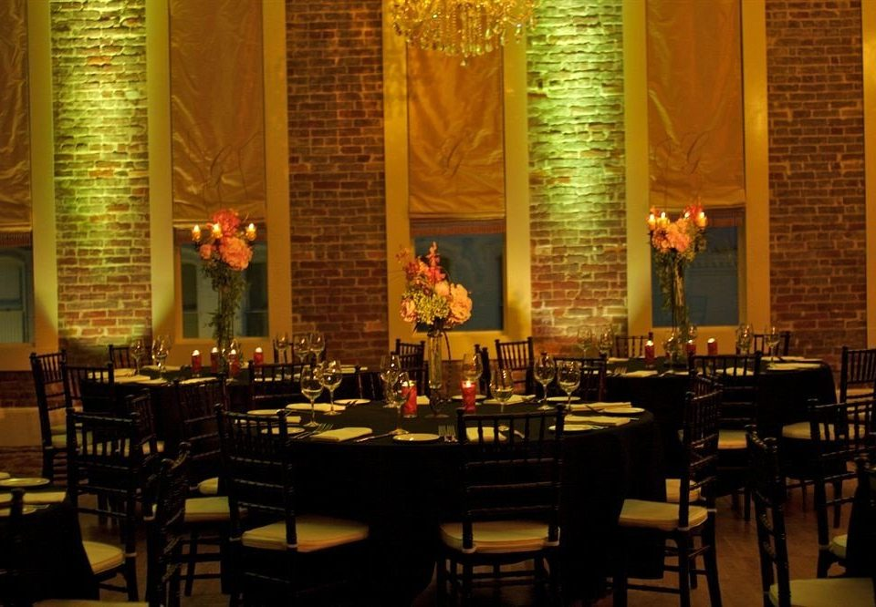 Boutique Dining chair function hall stage restaurant convention