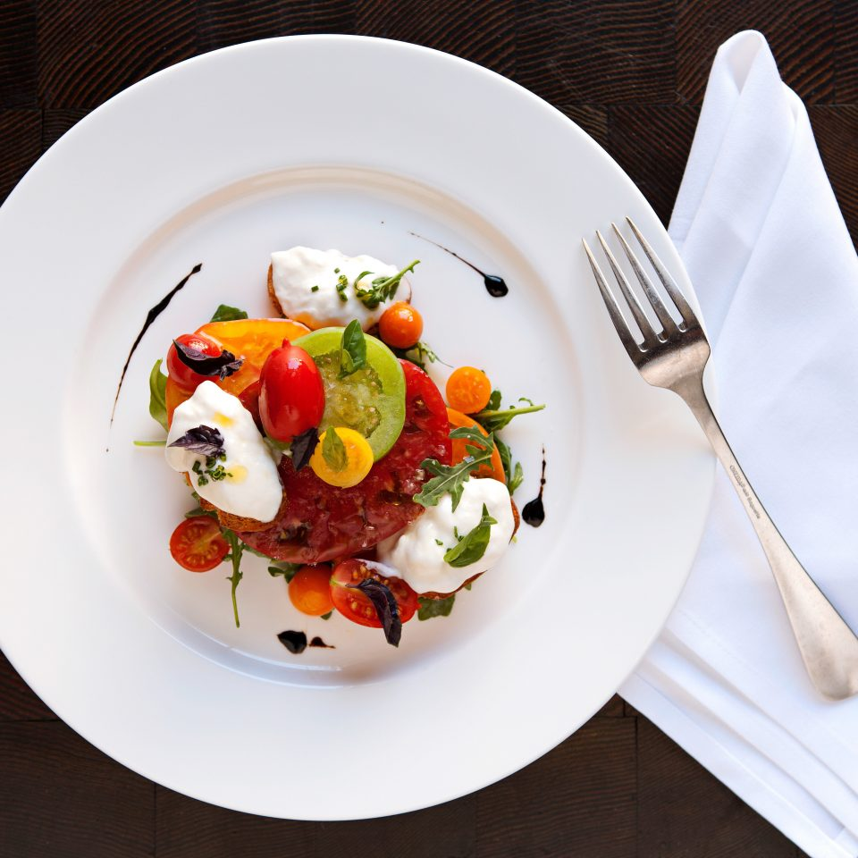 Boutique Dining Eat plate food white breakfast salad cuisine culinary art vegetable lunch piece de resistance