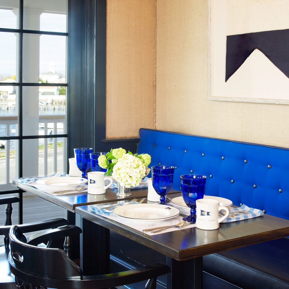 Boutique Dining Eat Modern Secret Getaways Trip Ideas blue restaurant home living room Kitchen dining table