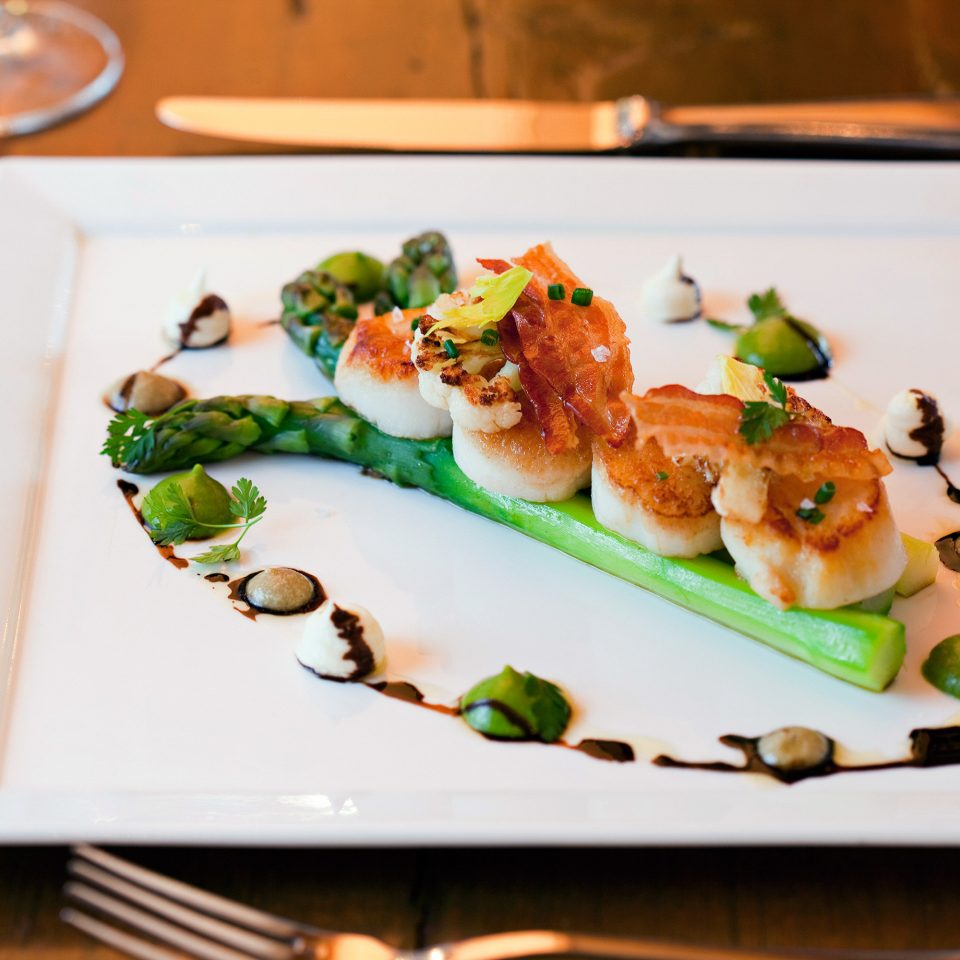 Boutique Dining Eat food plate cuisine hors d oeuvre restaurant sense Seafood