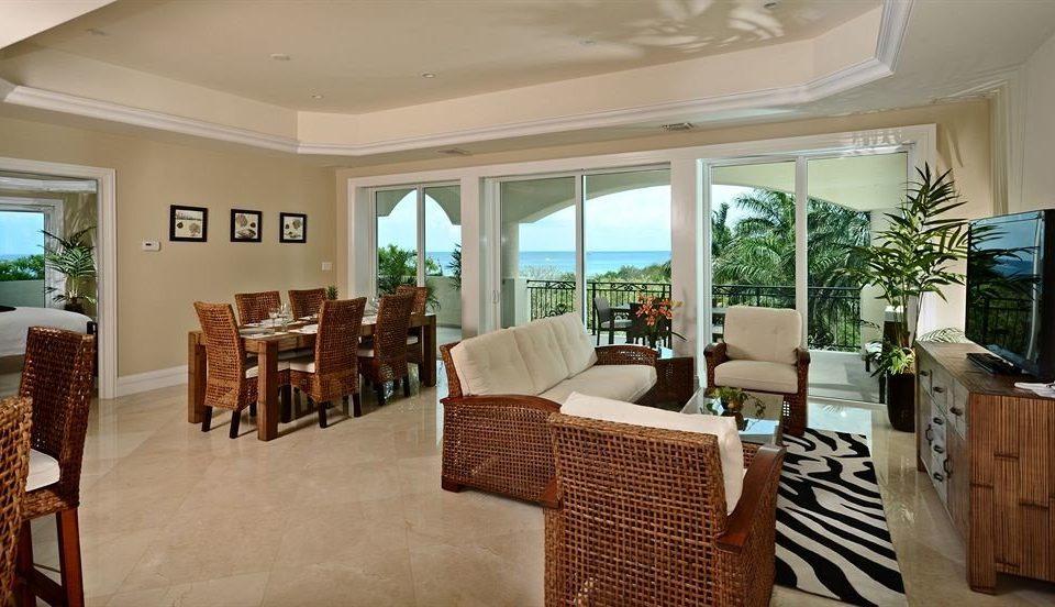 Boutique Dining Kitchen Modern Waterfront chair property living room home Lobby condominium Villa restaurant Resort Suite cottage