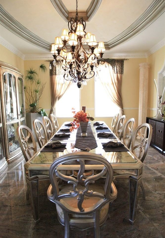 Boutique Dining Waterfront chair property living room home lighting mansion dining table