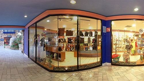 retail shopping mall Boutique display window